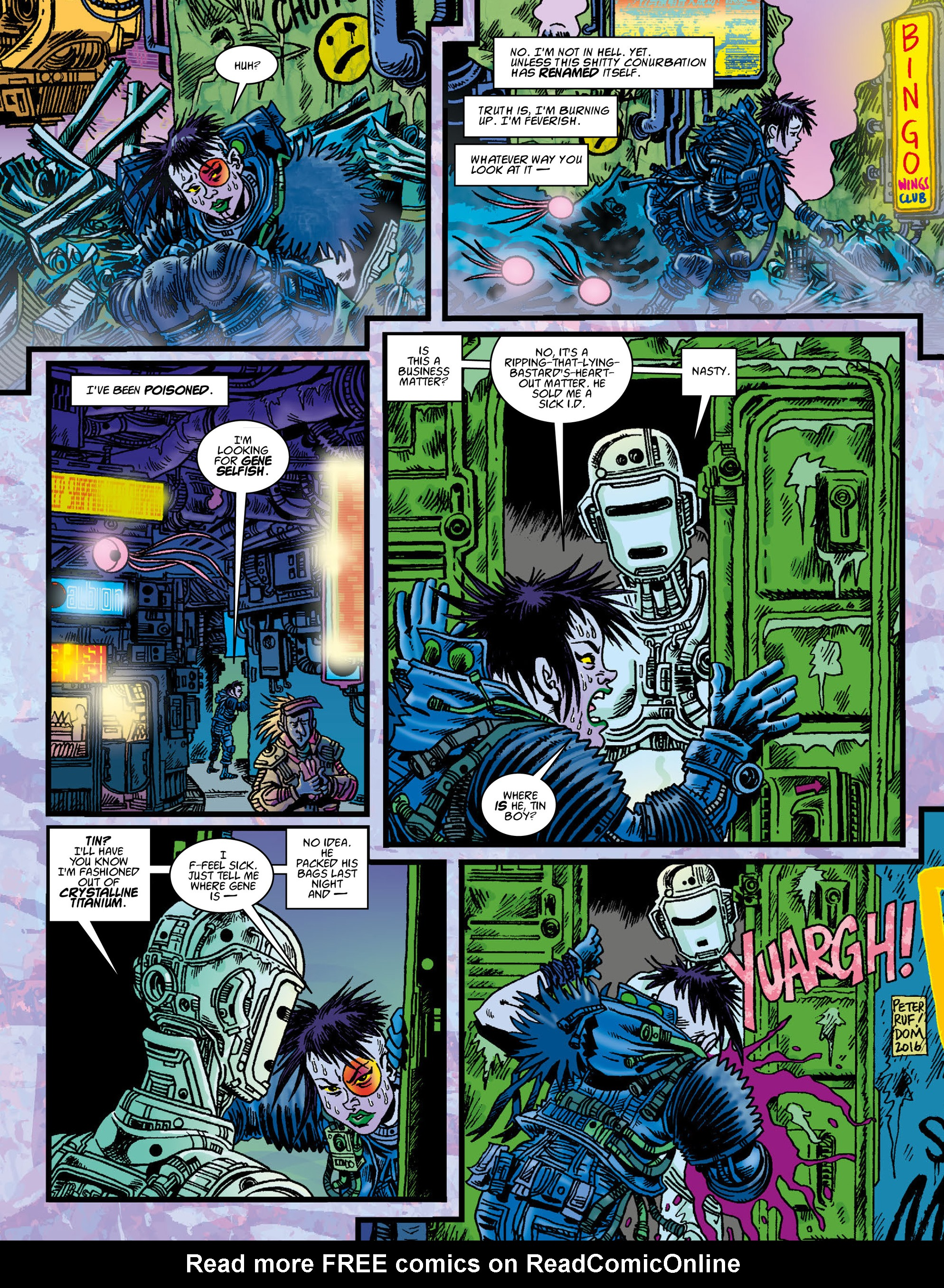 Read online 2000 AD comic -  Issue #2002 - 25