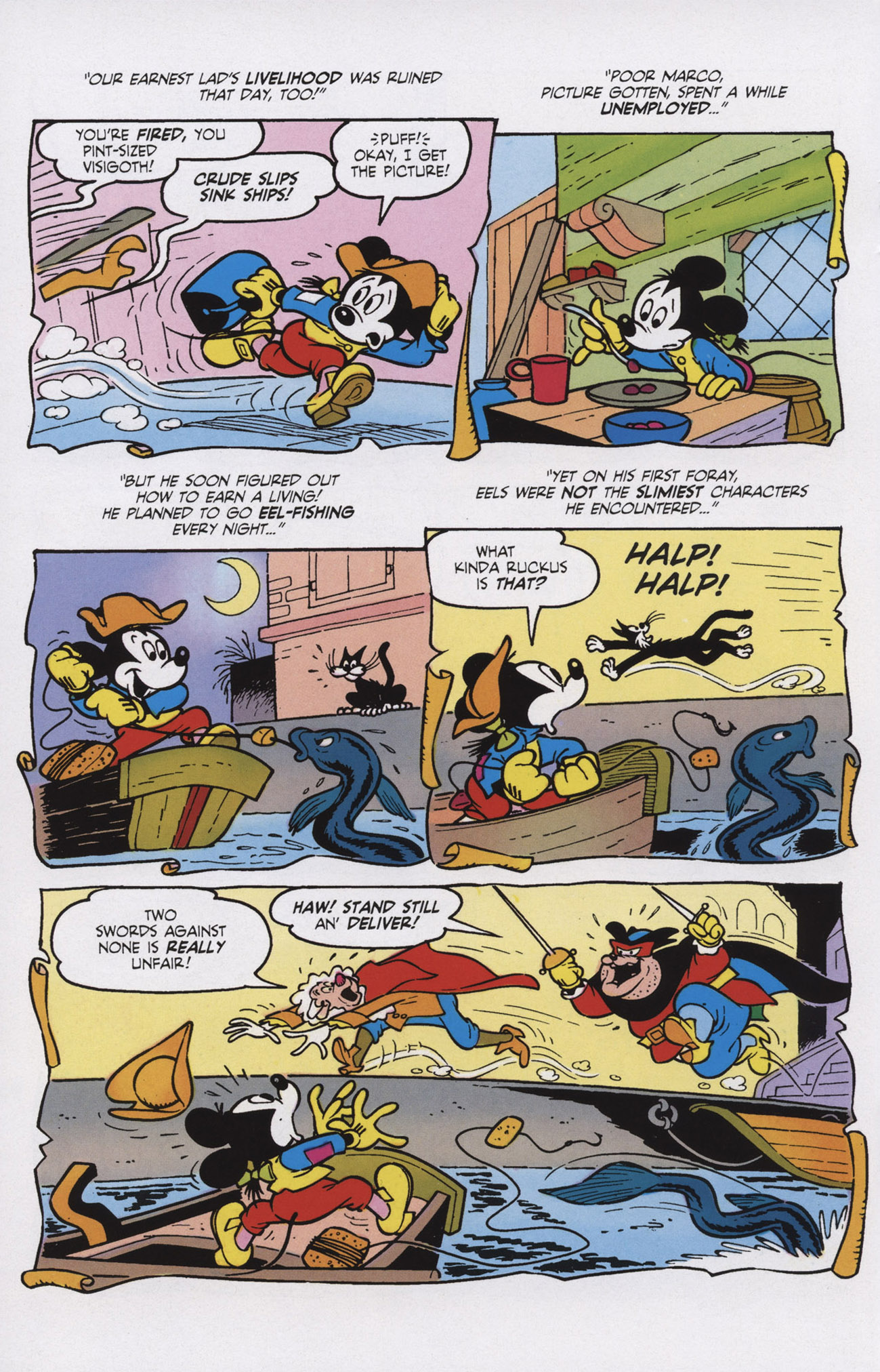 Read online Mickey Mouse (2011) comic -  Issue #309 - 14