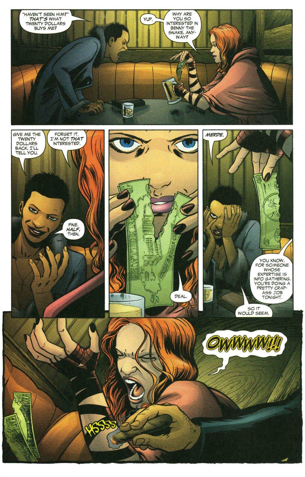 Read online Fallen Angel (2003) comic -  Issue #14 - 14