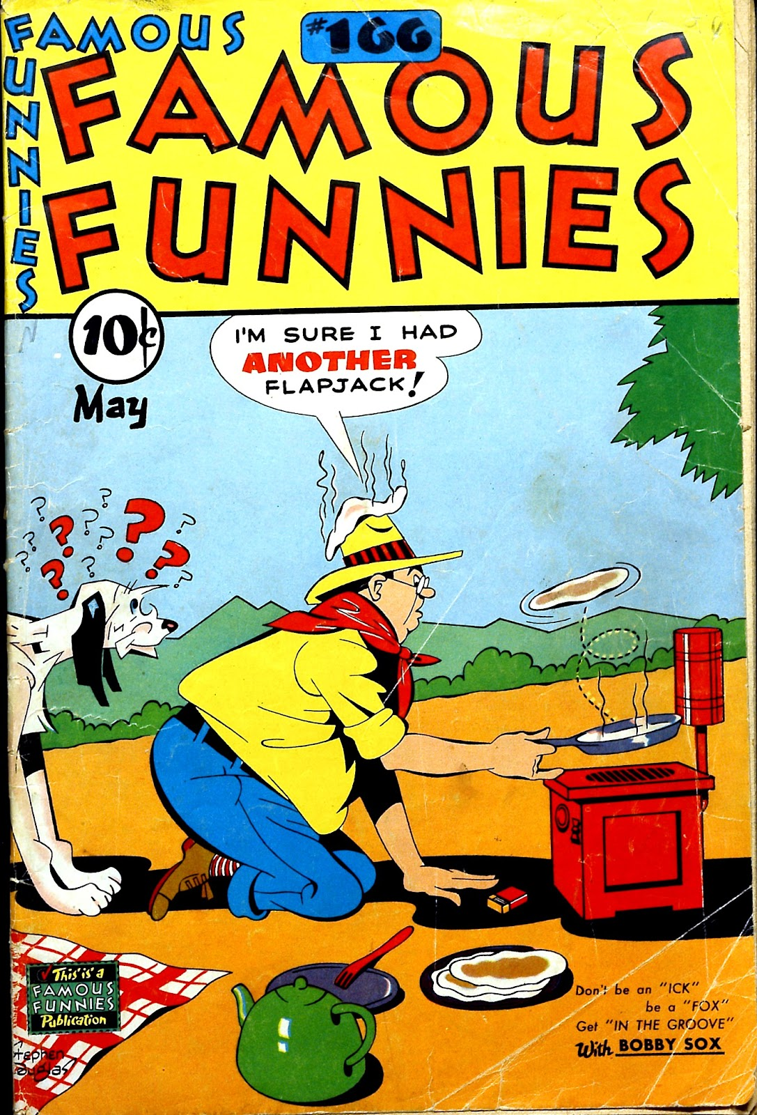 Read online Famous Funnies comic -  Issue #166 - 1