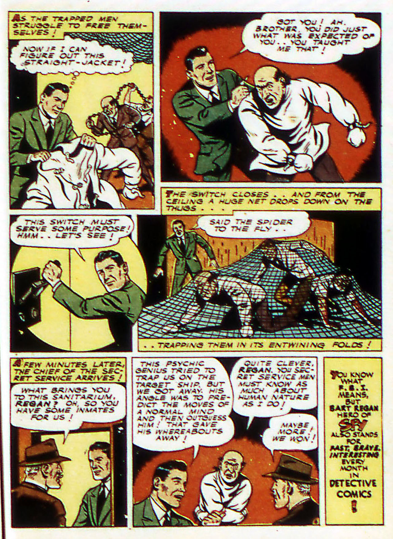 Read online Detective Comics (1937) comic -  Issue #72 - 48