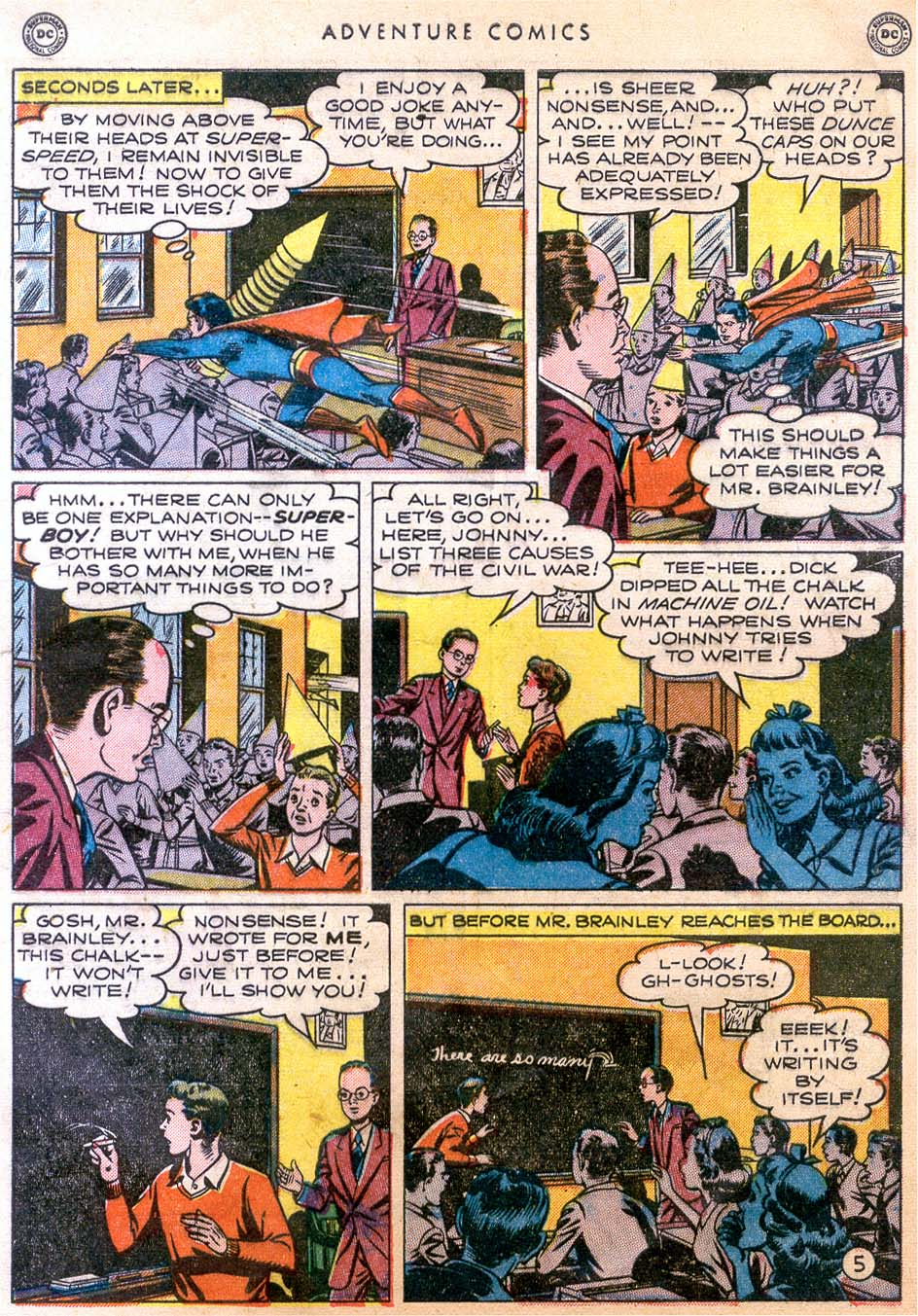 Read online Adventure Comics (1938) comic -  Issue #158 - 7