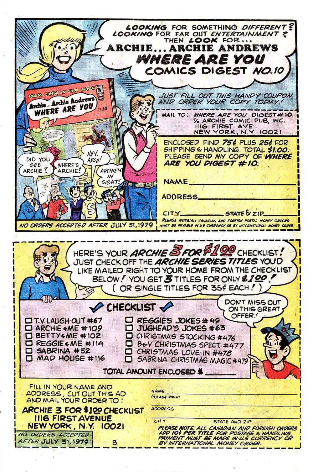 Read online Archie (1960) comic -  Issue #279 - 27