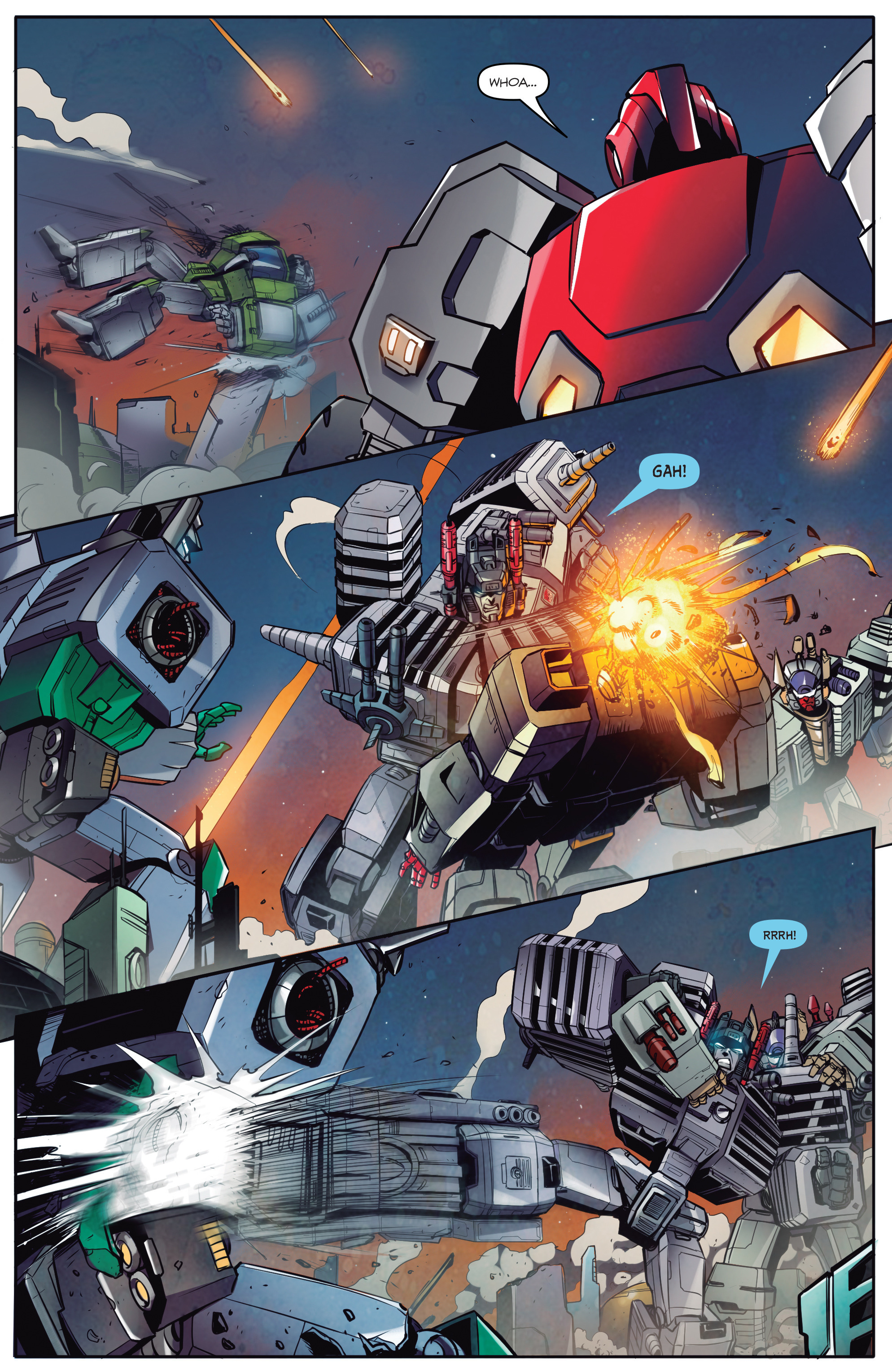 Read online Transformers: Till All Are One comic -  Issue #5 - 22