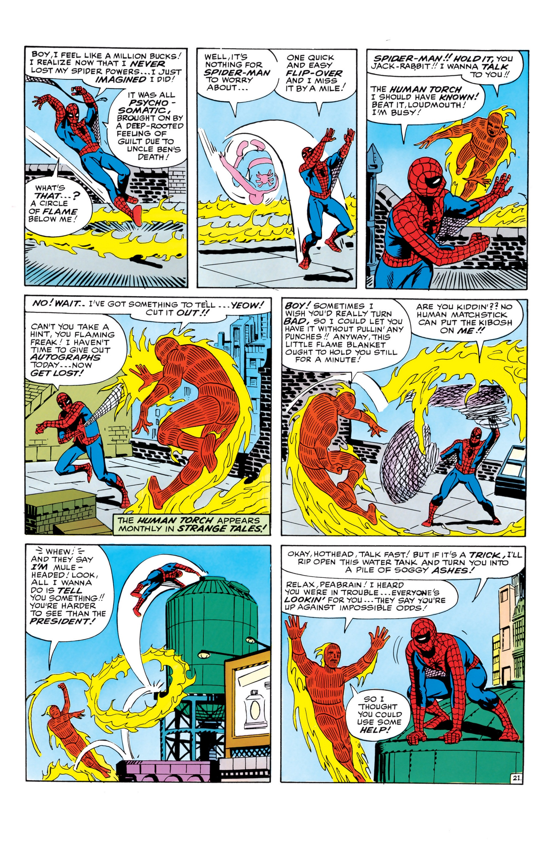 The Amazing Spider-Man (1963) _Annual_1 Page 21