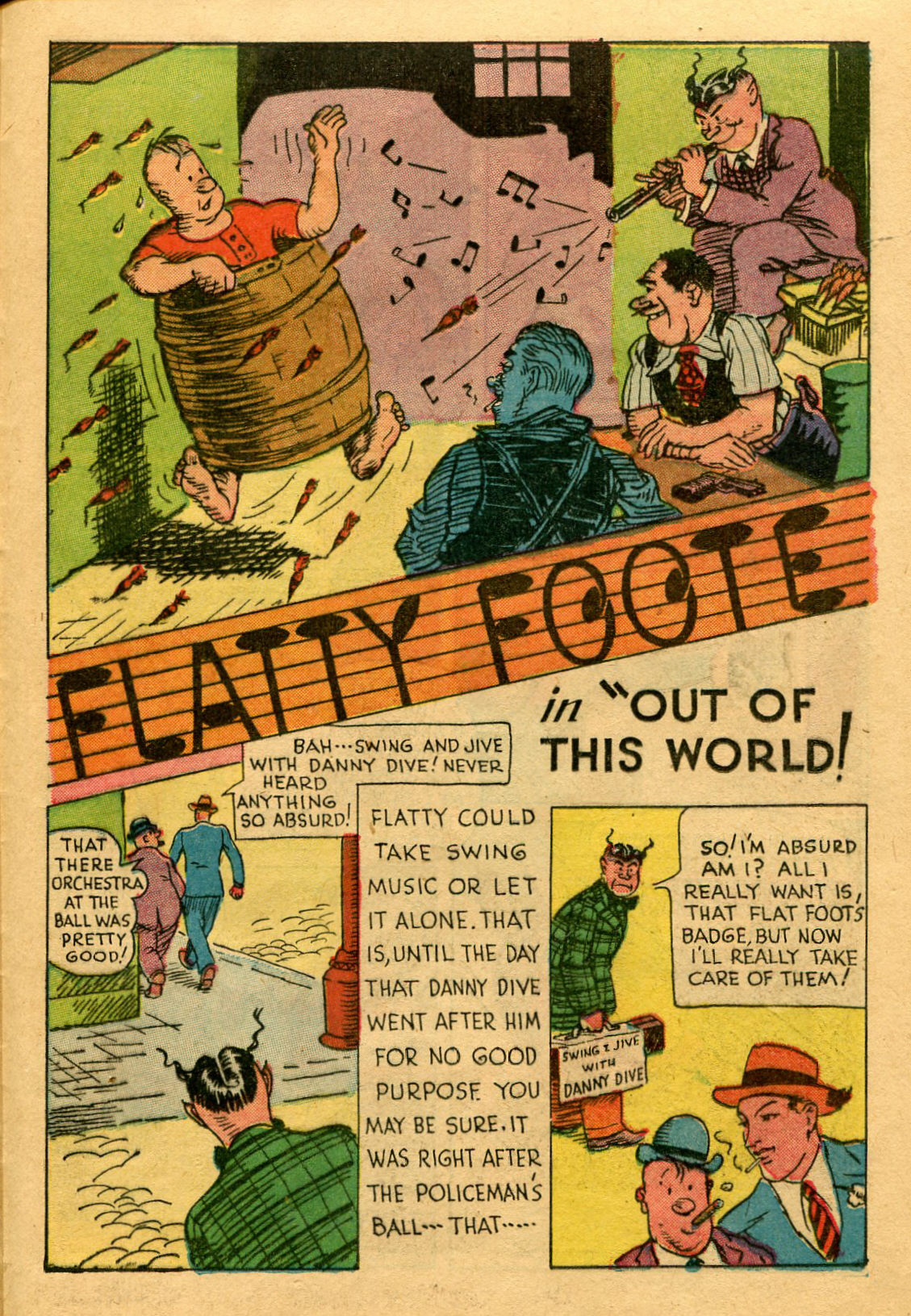 Read online Shadow Comics comic -  Issue #53 - 36