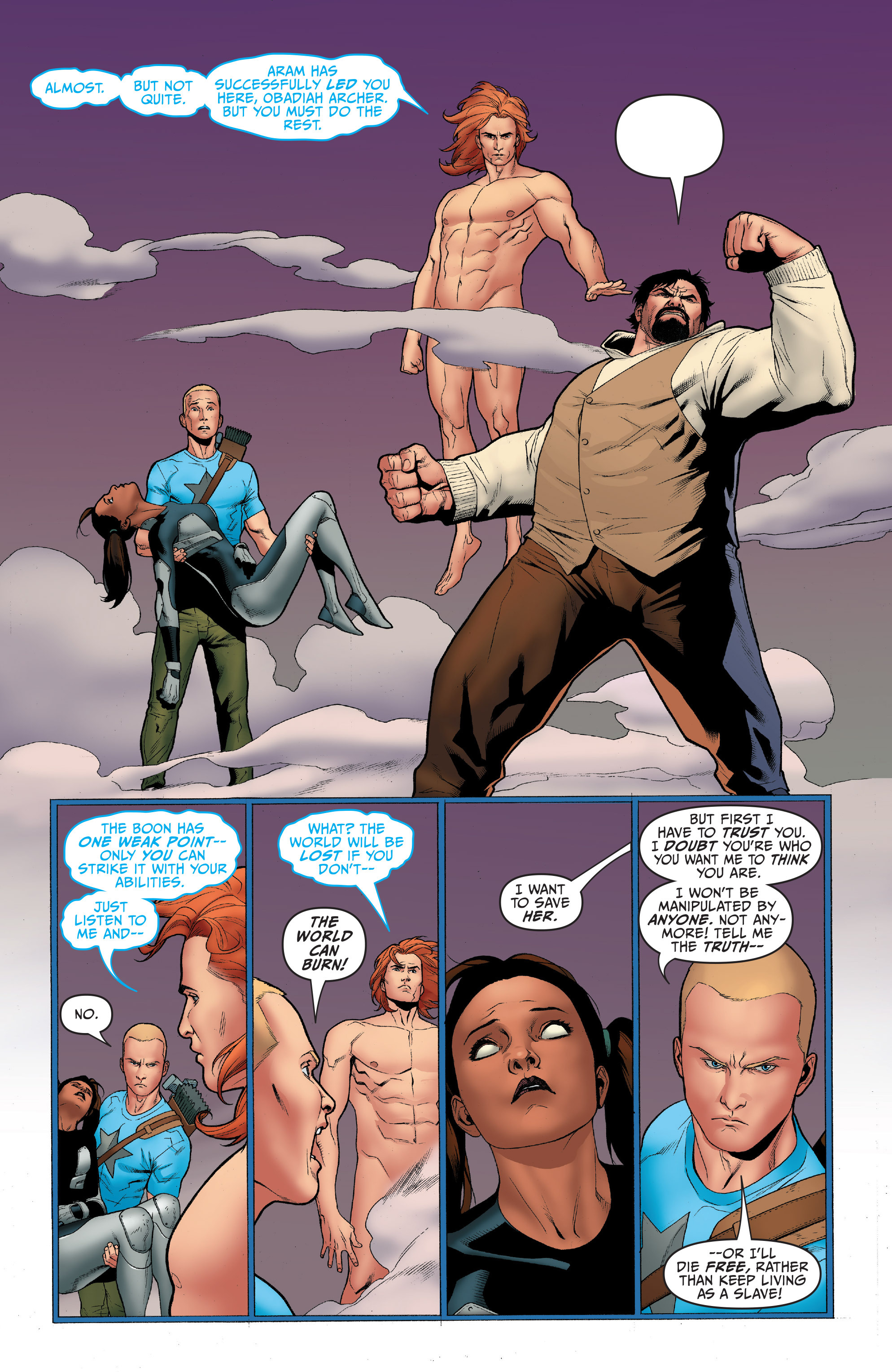 Read online Archer and Armstrong comic -  Issue #4 - 19