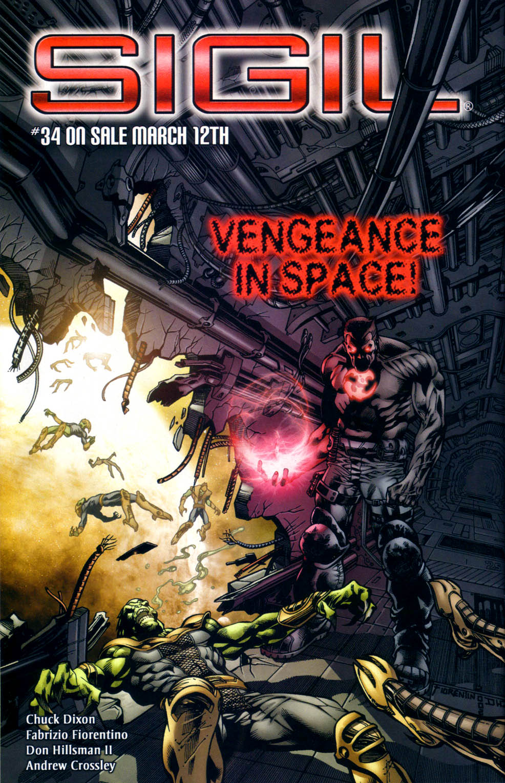 Read online Sigil (2000) comic -  Issue #33 - 23