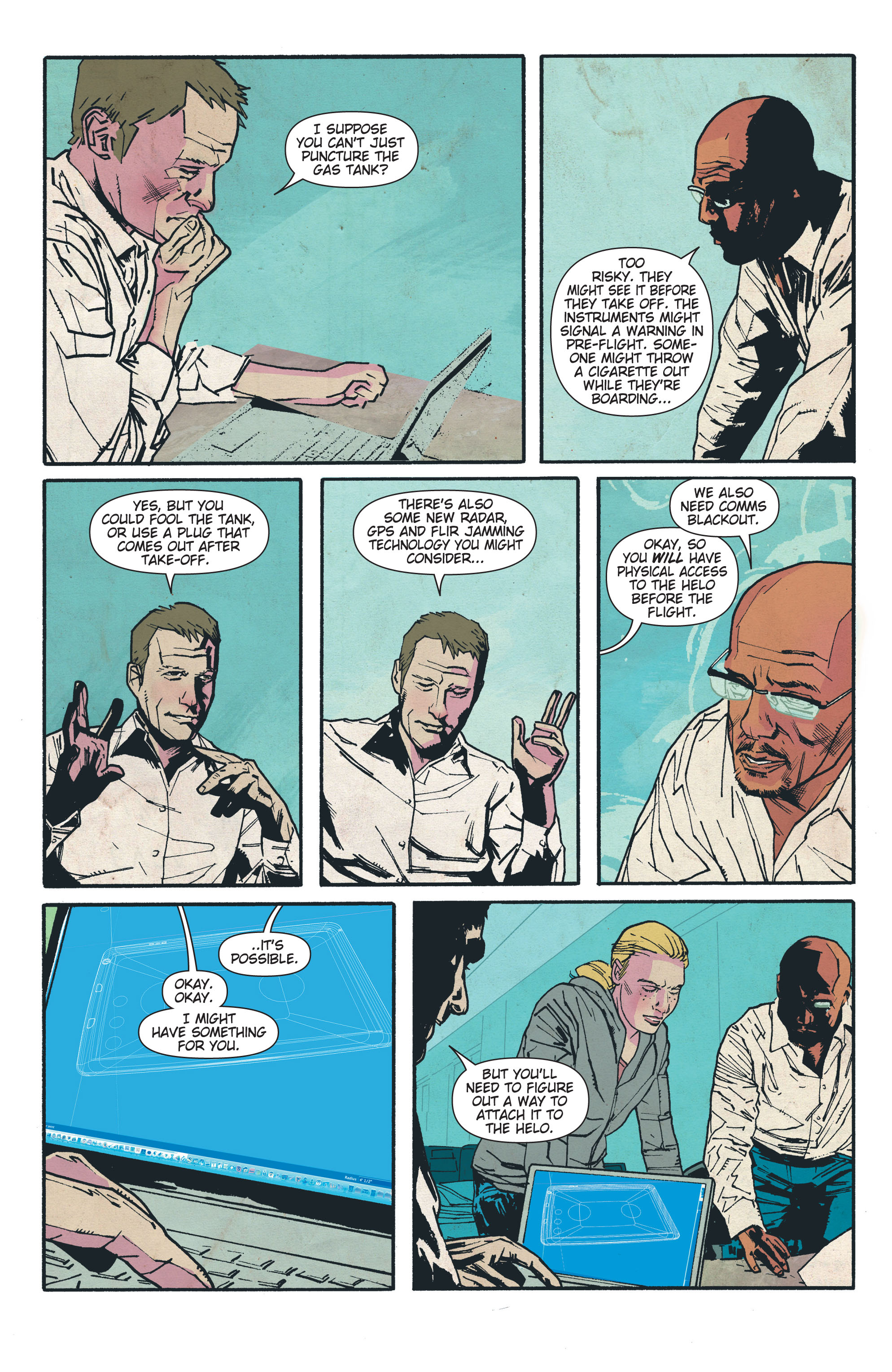 Read online The Activity comic -  Issue #4 - 6
