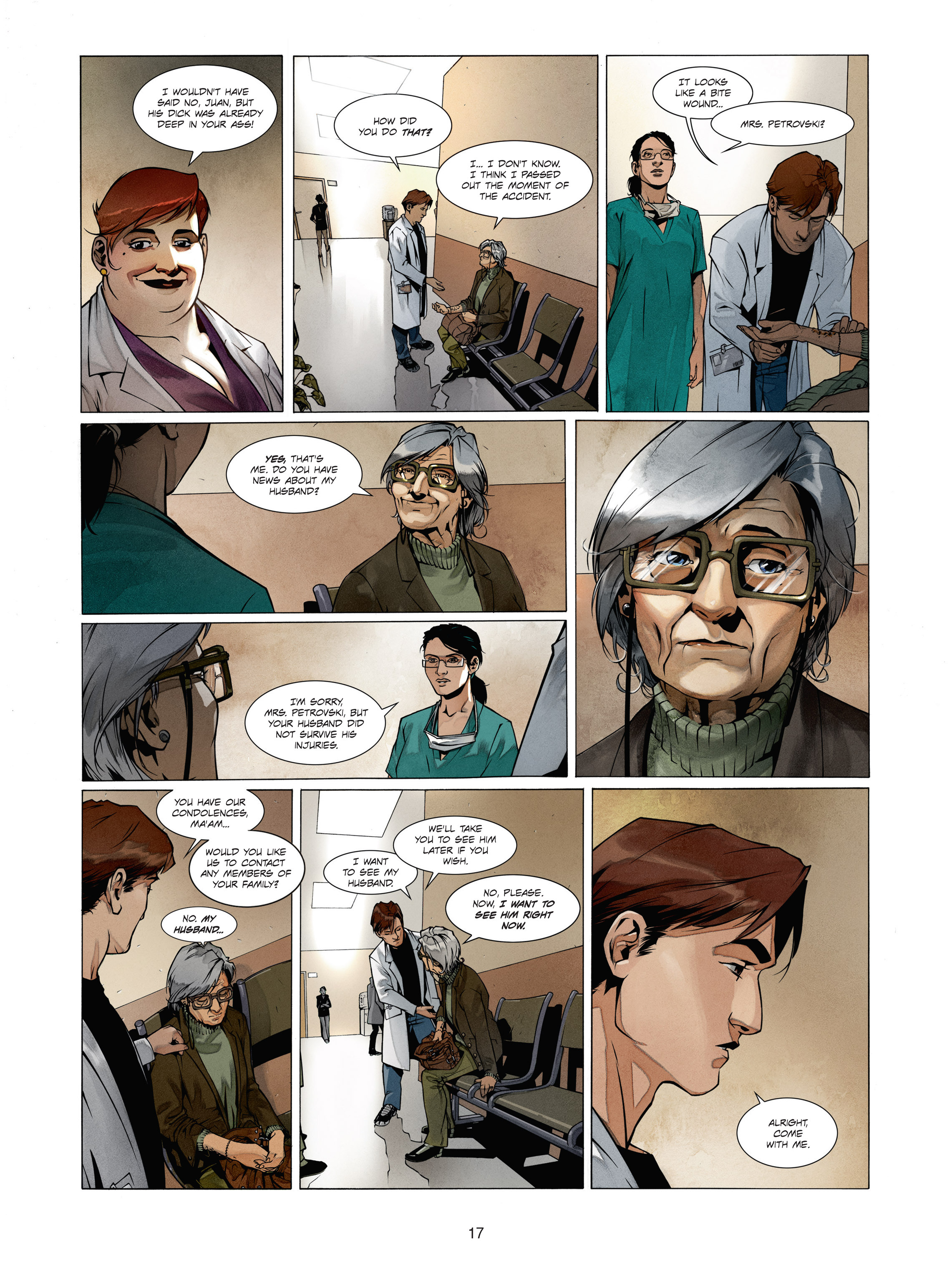 Read online Alice Matheson comic -  Issue #1 - 16