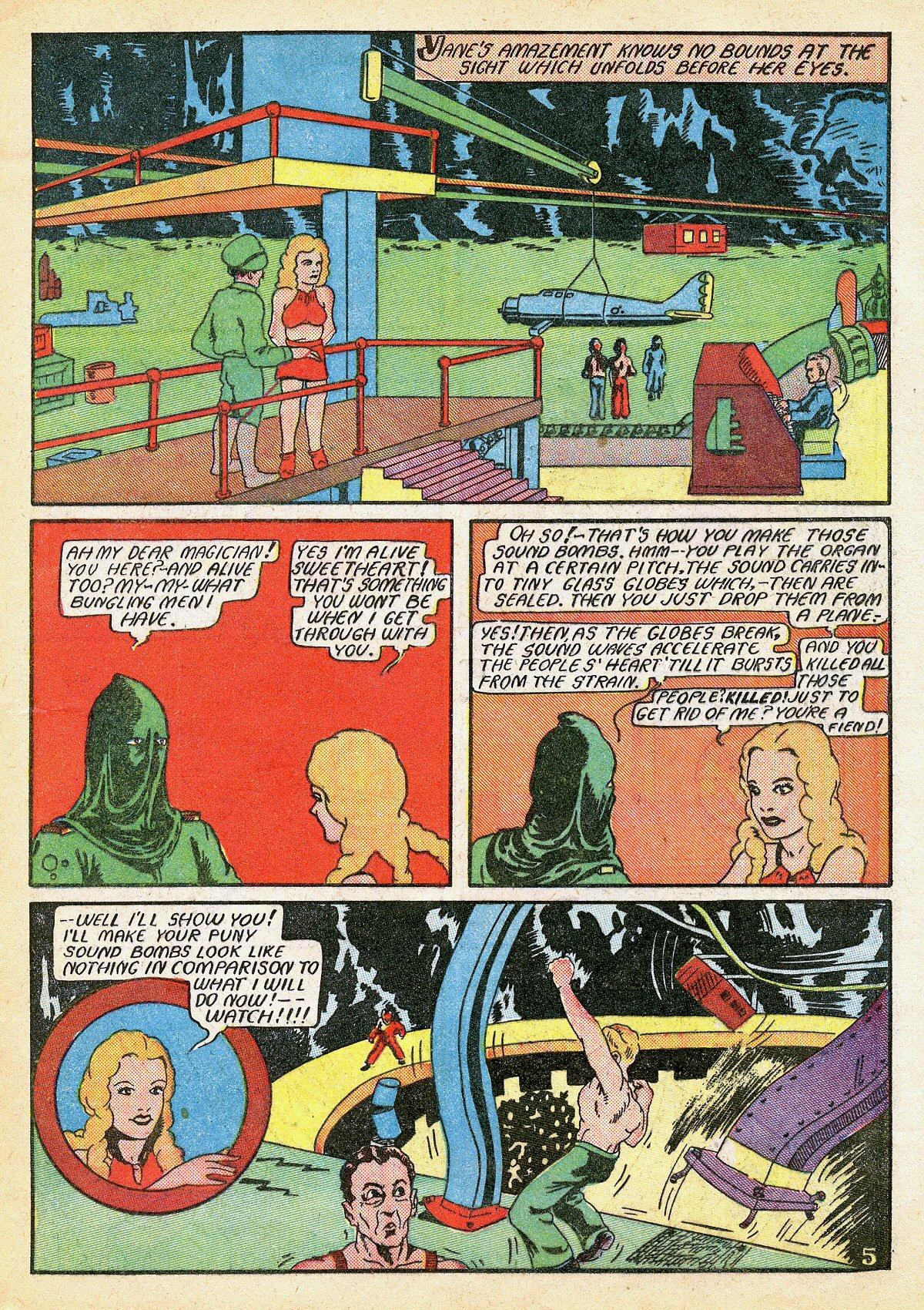 Read online Amazing Man Comics comic -  Issue #10 - 24