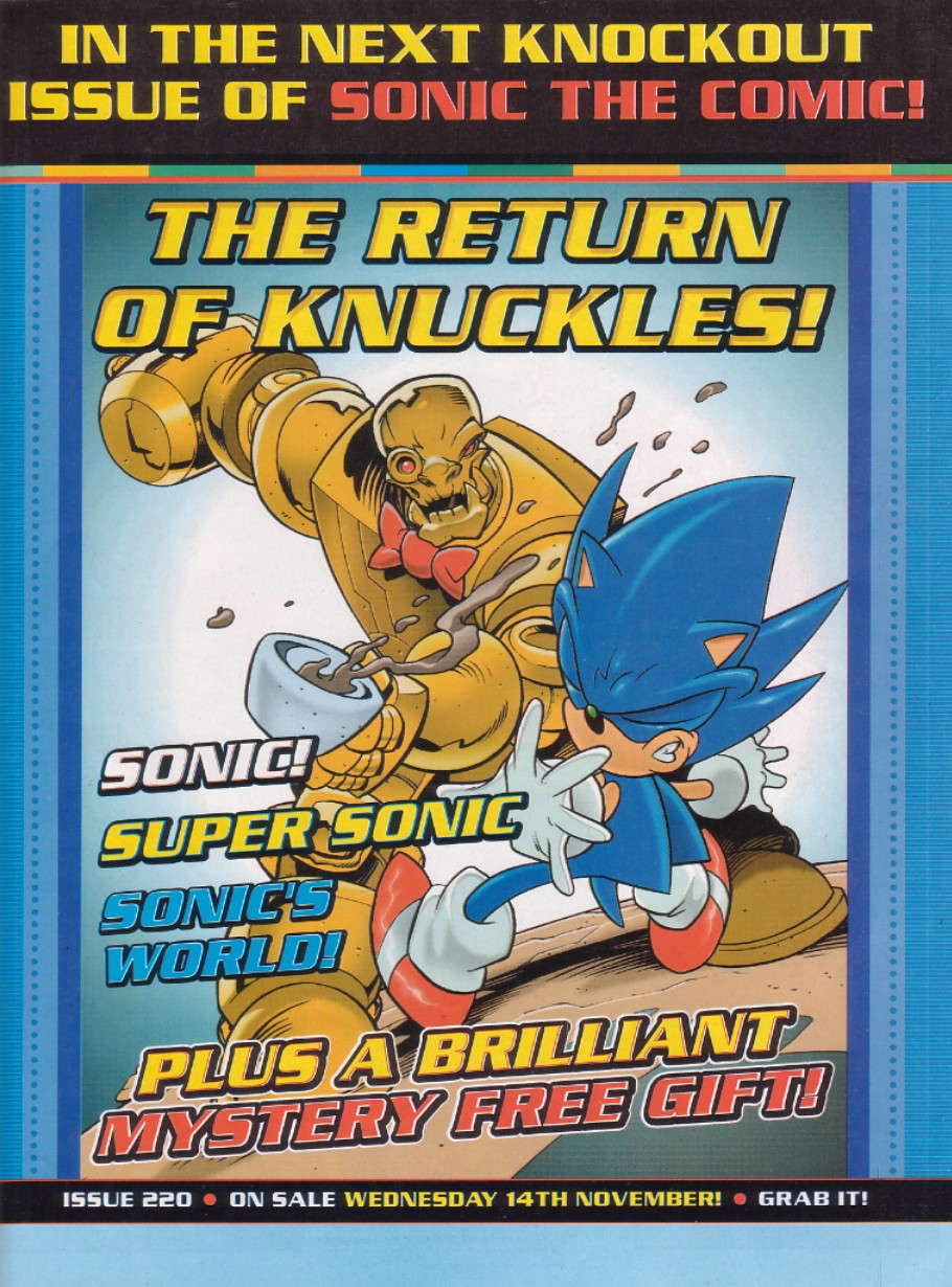 Read online Sonic the Comic comic -  Issue #219 - 2