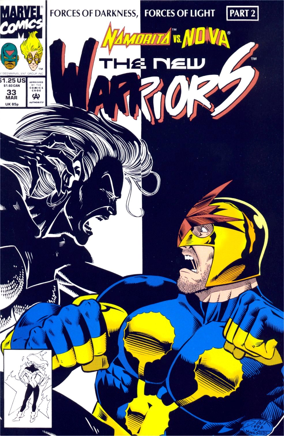 The New Warriors Issue #33 #37 - English 1
