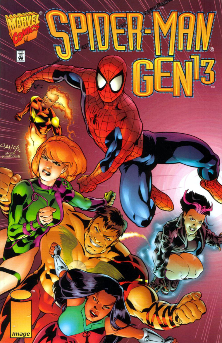 Read online Spider-Man/Gen13 comic -  Issue # Full - 1