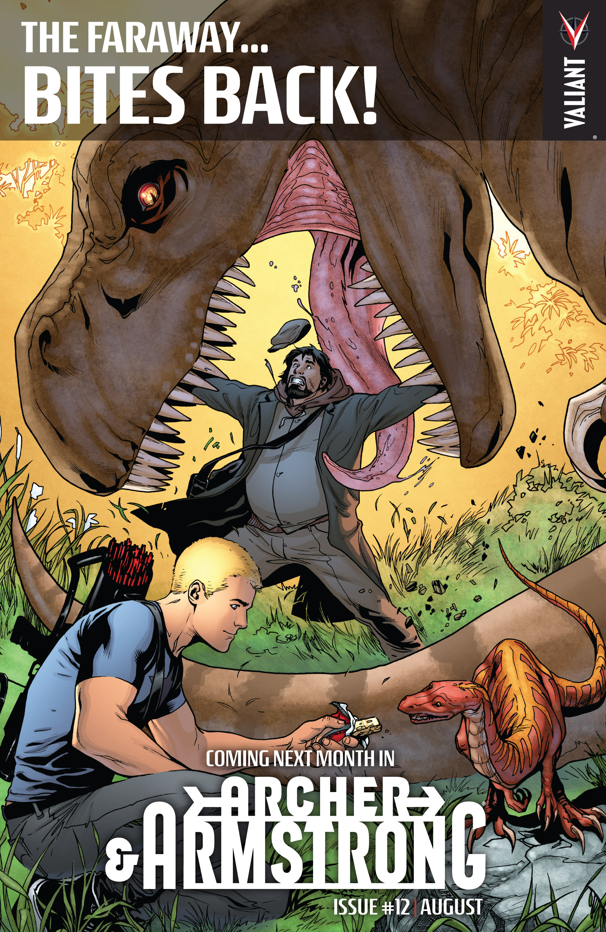 Read online Archer and Armstrong comic -  Issue #11 - 26