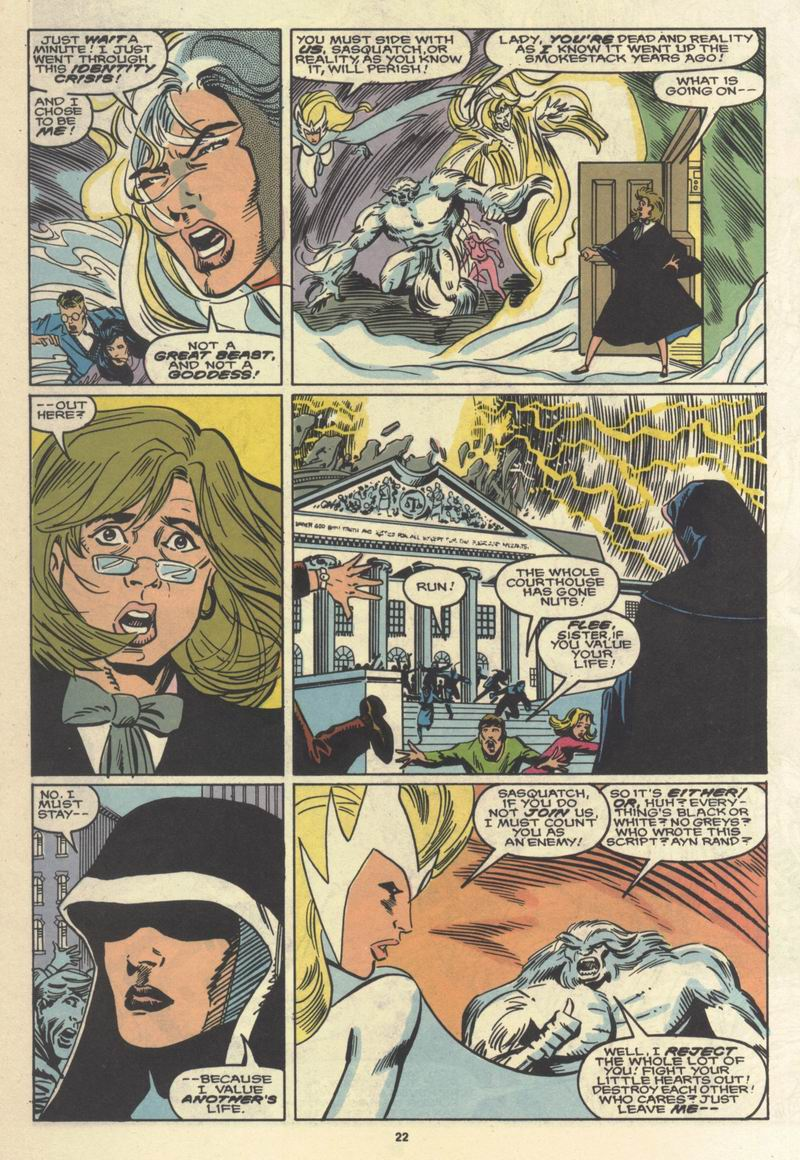 Read online Alpha Flight (1983) comic -  Issue #64 - 22
