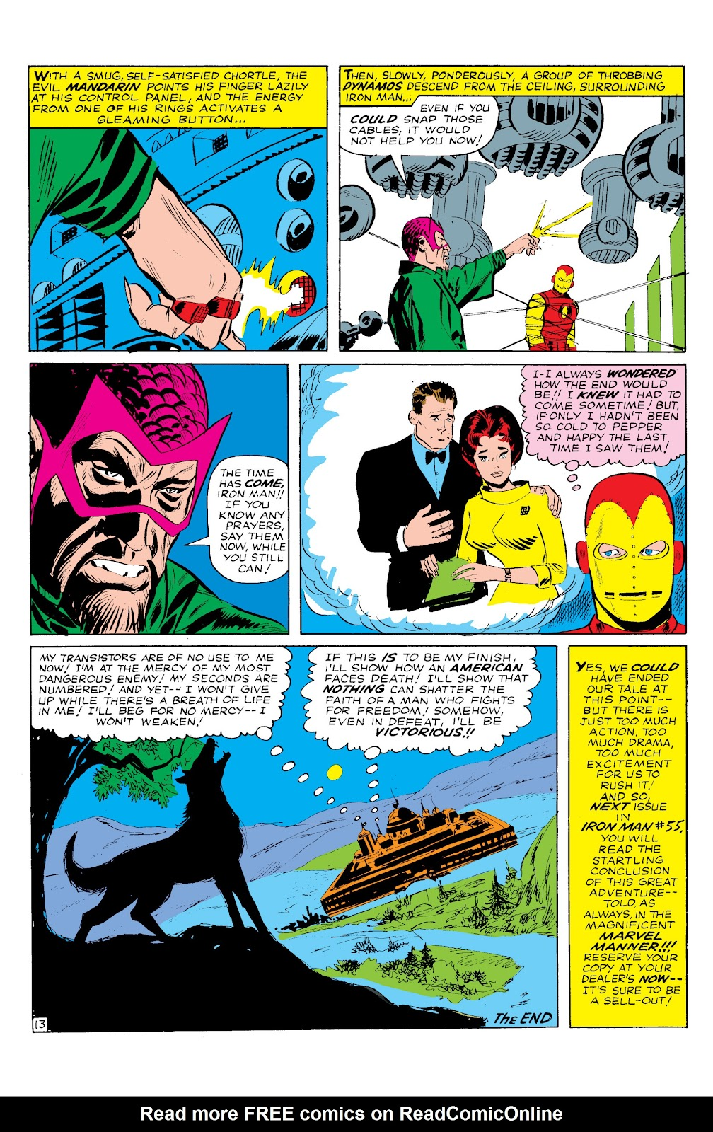 Read online Marvel Masterworks: The Invincible Iron Man comic -  Issue # TPB 2 (Part 1) - 59