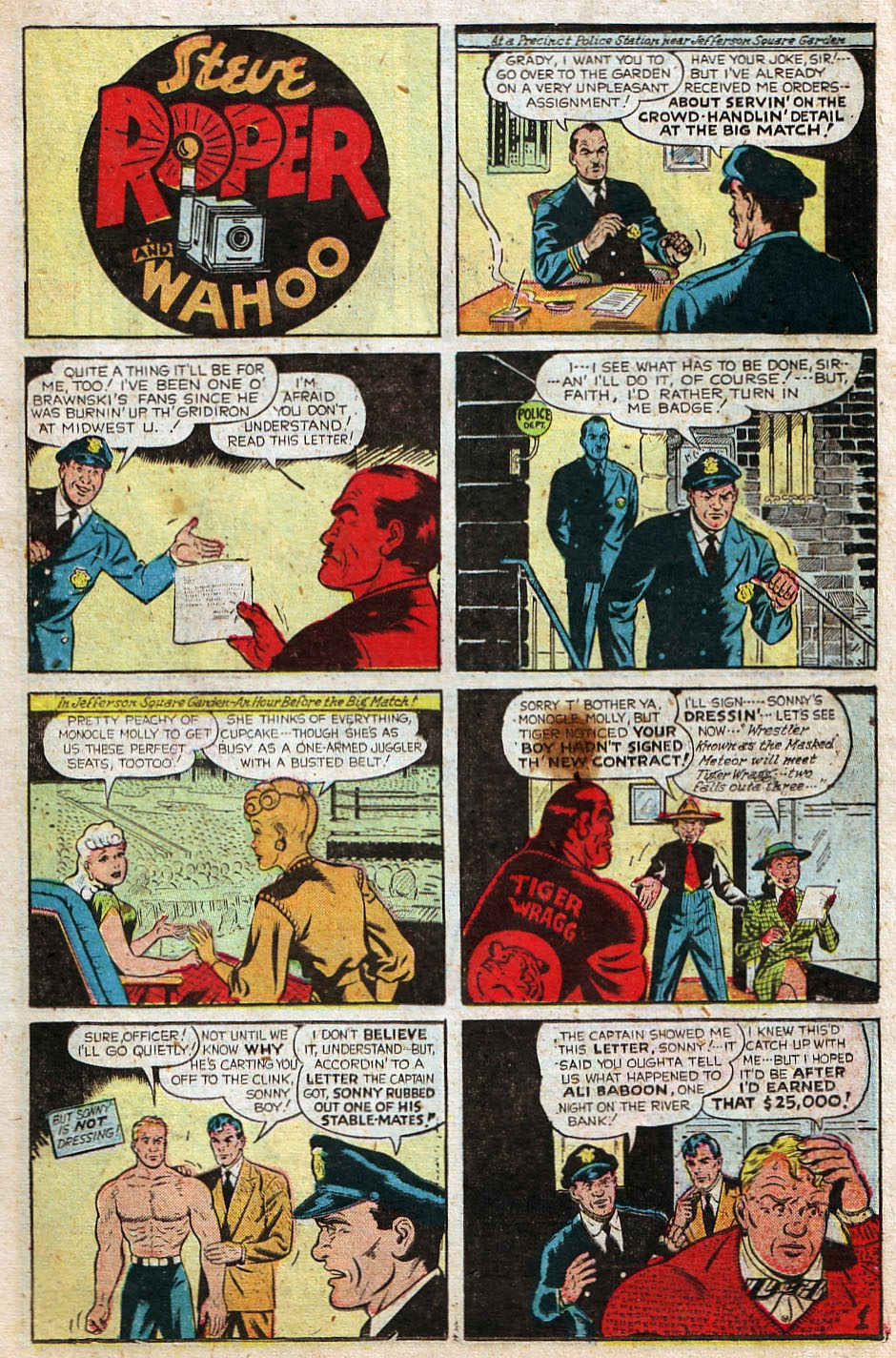 Read online Famous Funnies comic -  Issue #192 - 15
