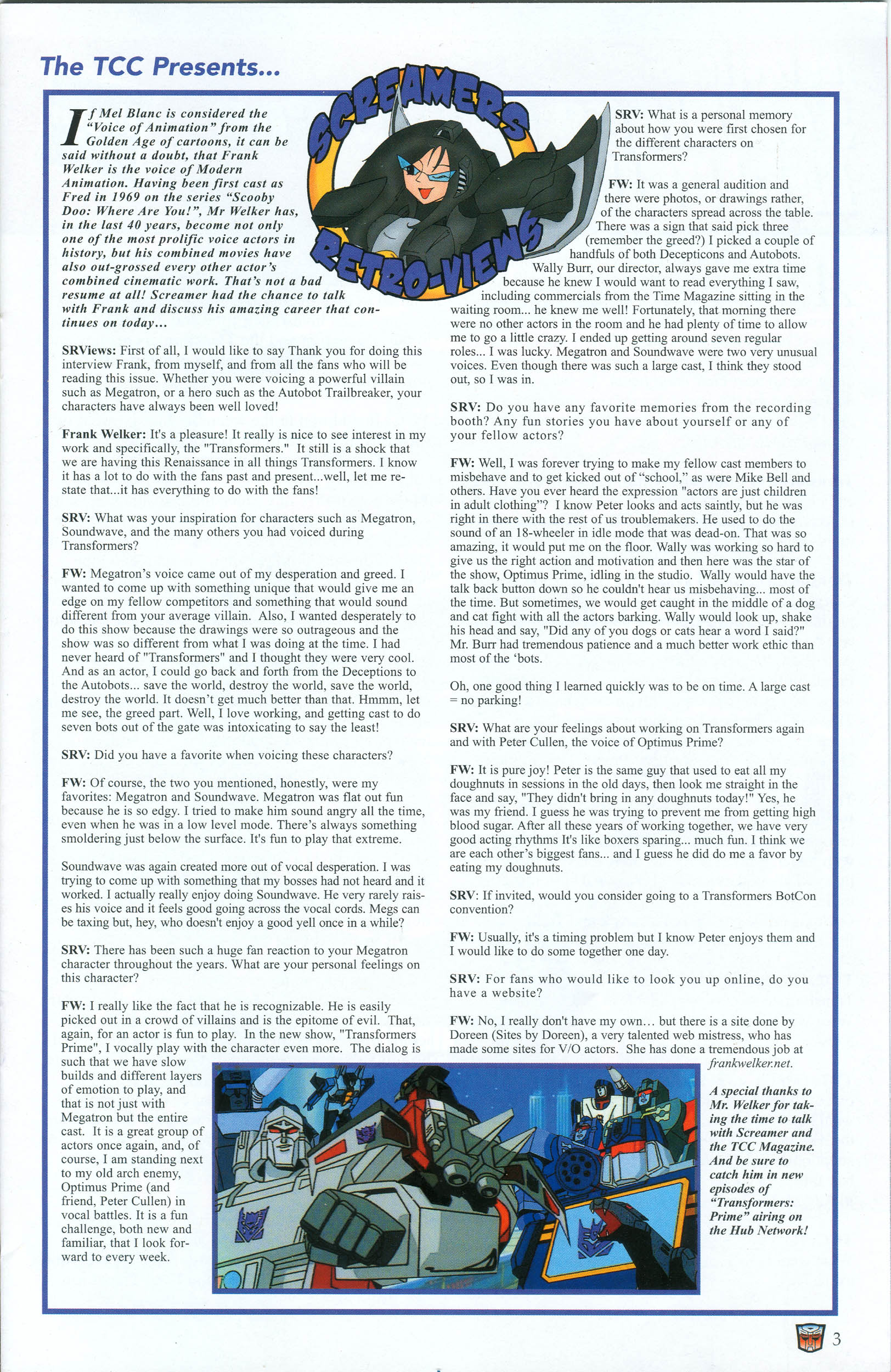 Read online Transformers: Collectors' Club comic -  Issue #39 - 3
