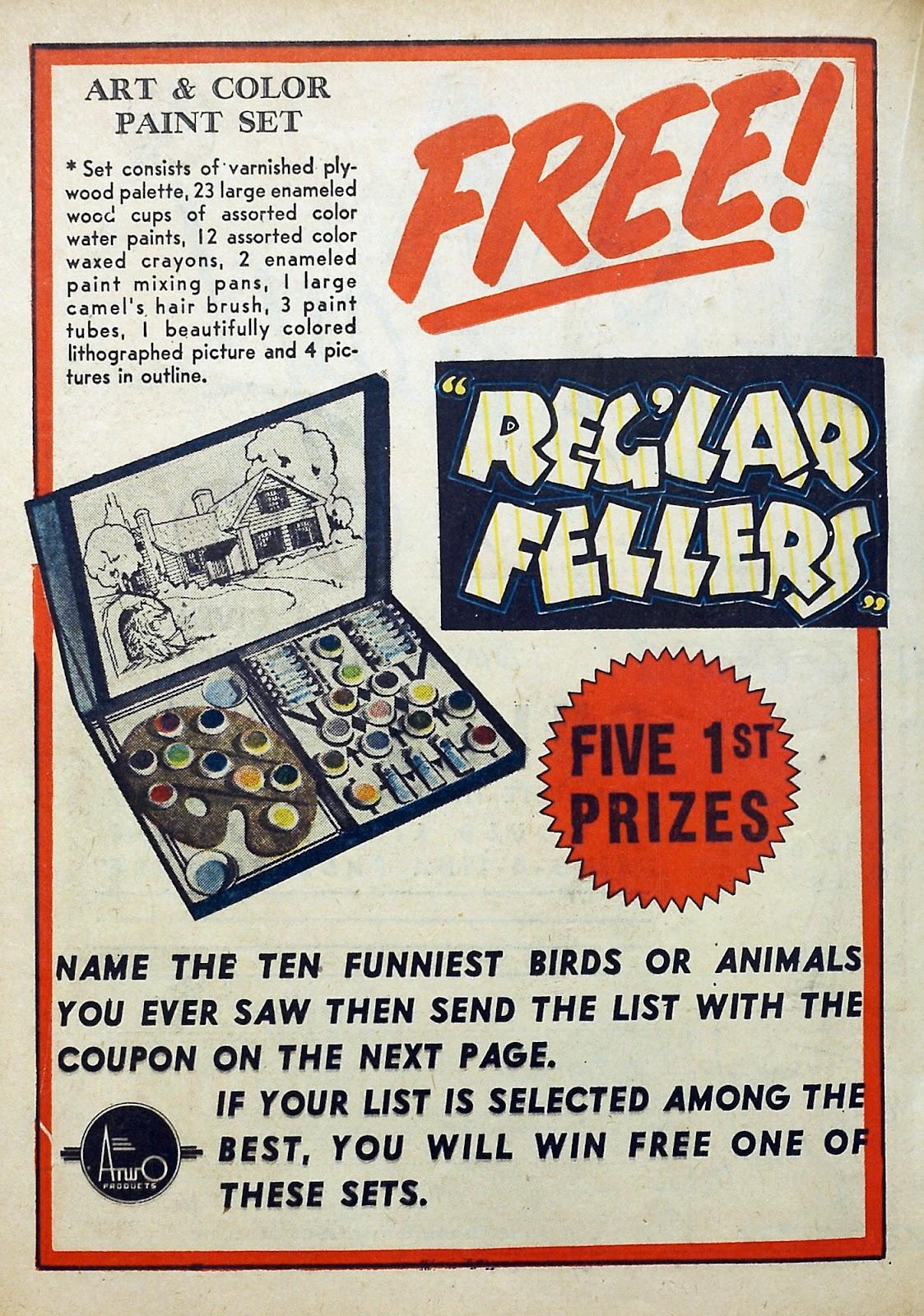 Reglar Fellers Heroic Comics issue 13 - Page 36