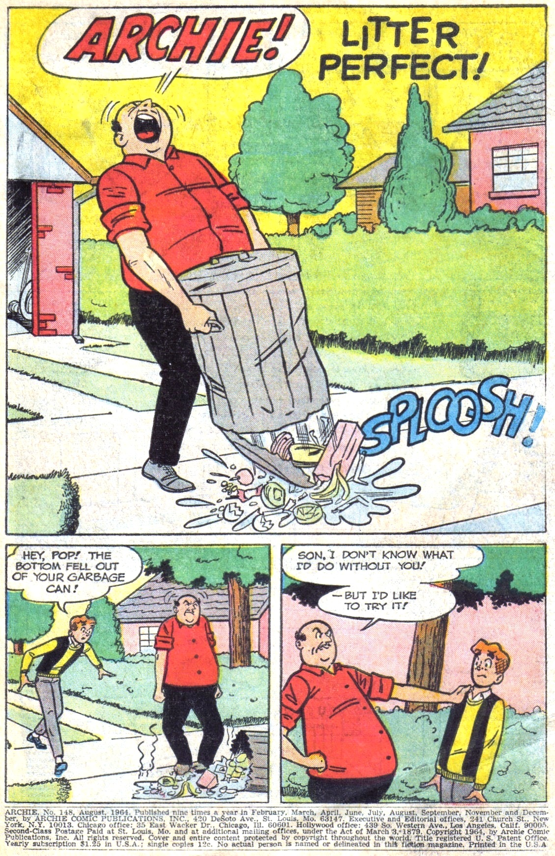 Read online Archie (1960) comic -  Issue #148 - 3