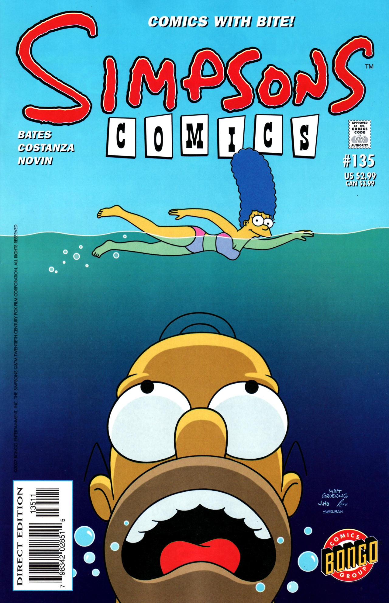 Read online Simpsons Comics comic -  Issue #135 - 1