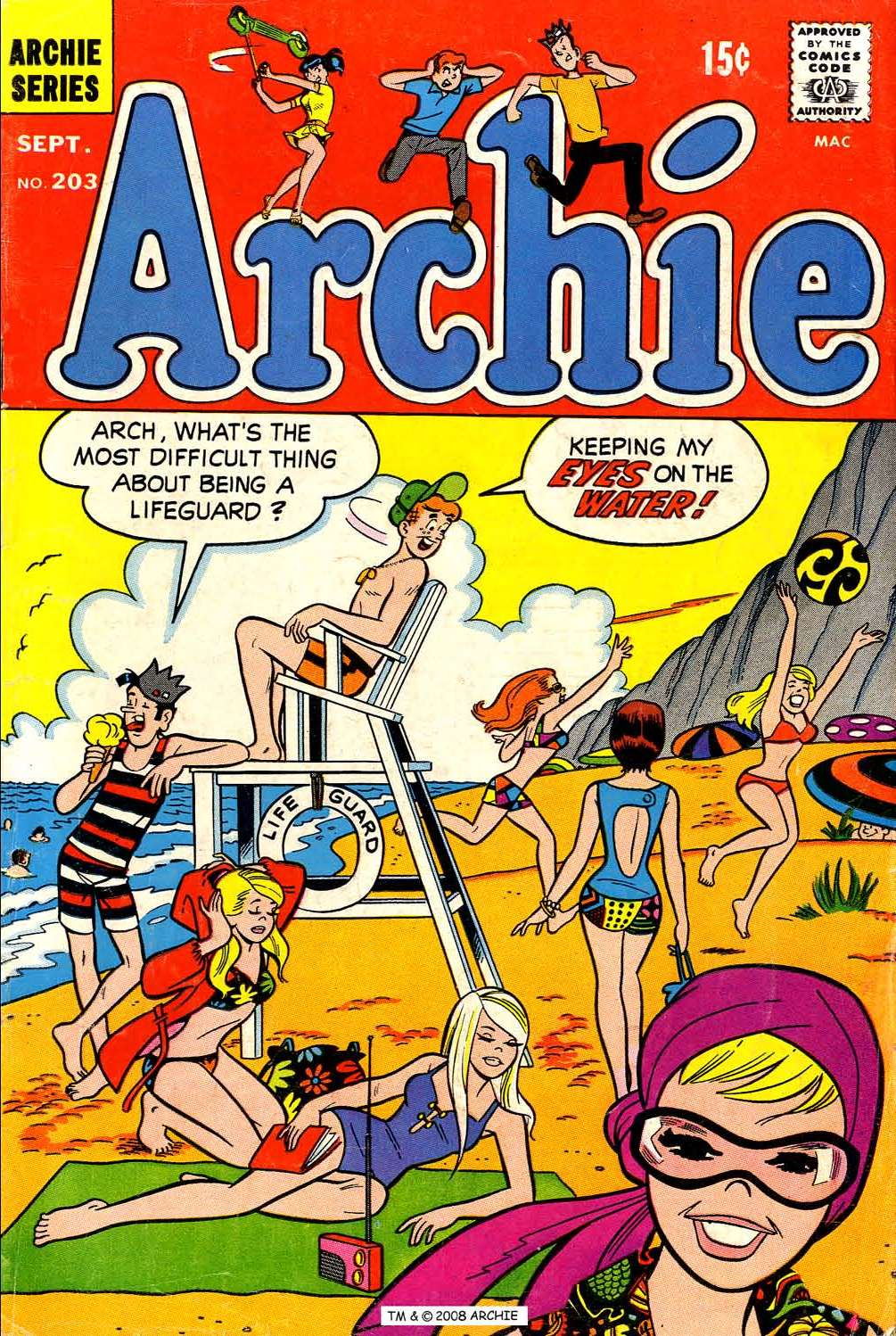 Read online Archie (1960) comic -  Issue #203 - 1