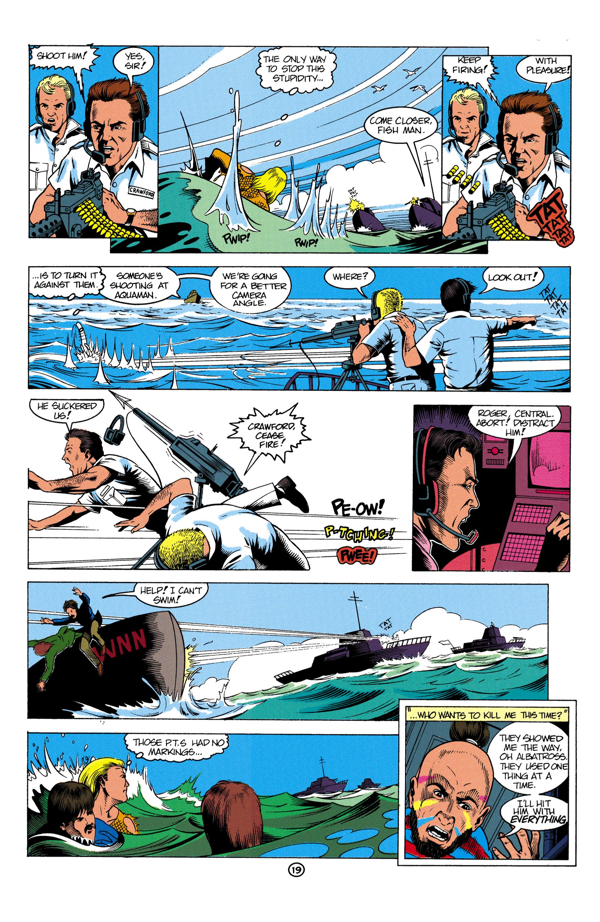 Read online Aquaman (1991) comic -  Issue #2 - 20