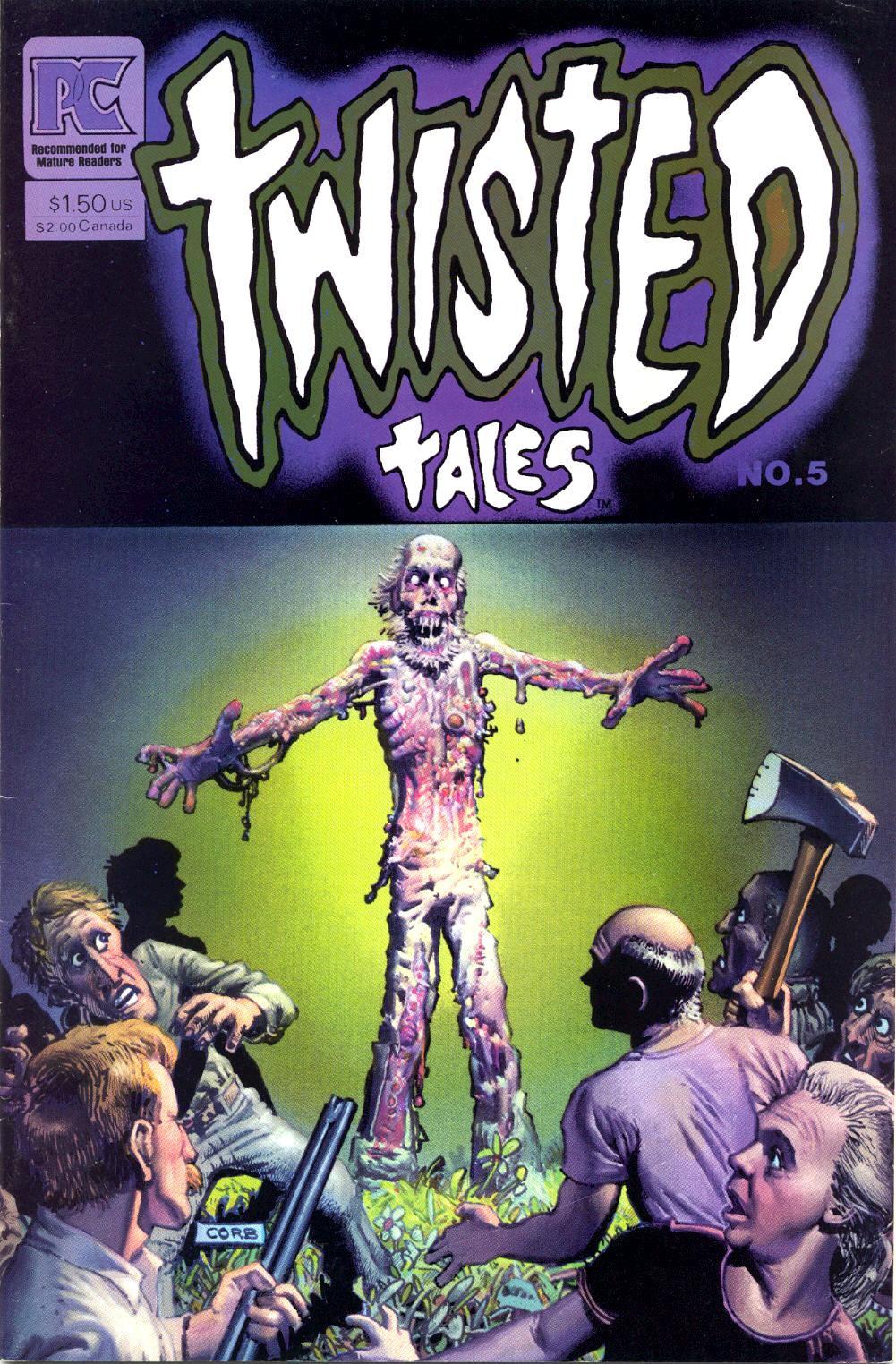 Read online Twisted Tales (1982) comic -  Issue #5 - 1