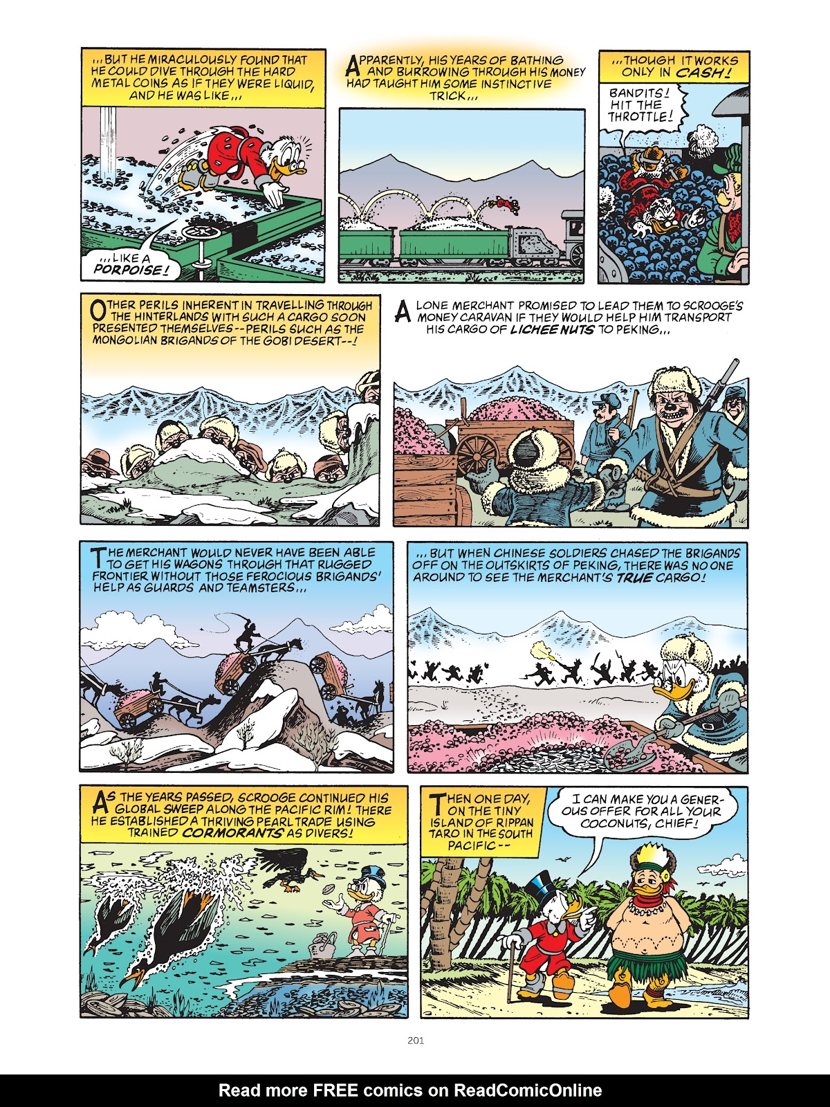 Read online The Complete Life and Times of Scrooge McDuck comic -  Issue # TPB 1 (Part 2) - 96