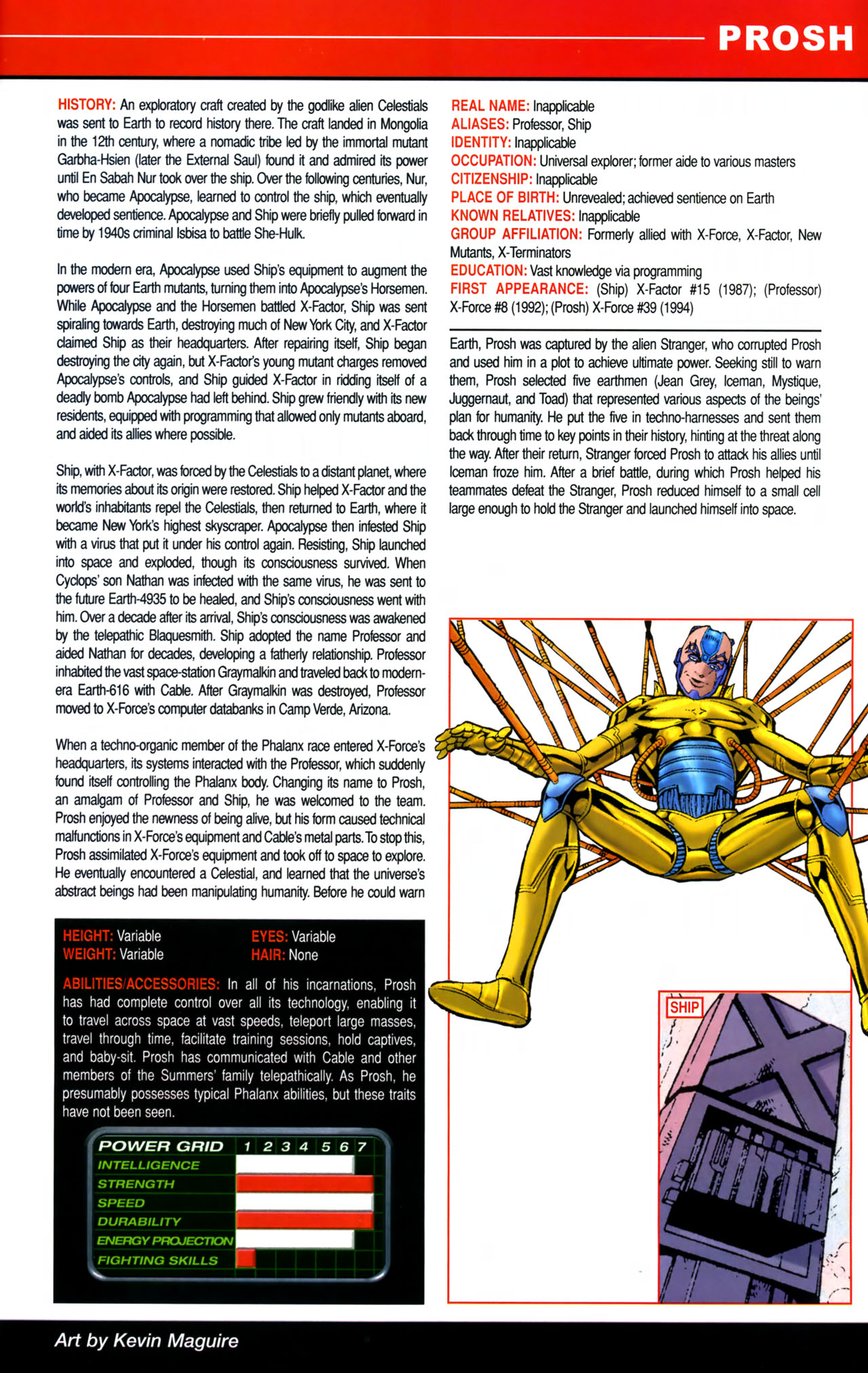 Read online All-New Official Handbook of the Marvel Universe A to Z comic -  Issue #8 - 57