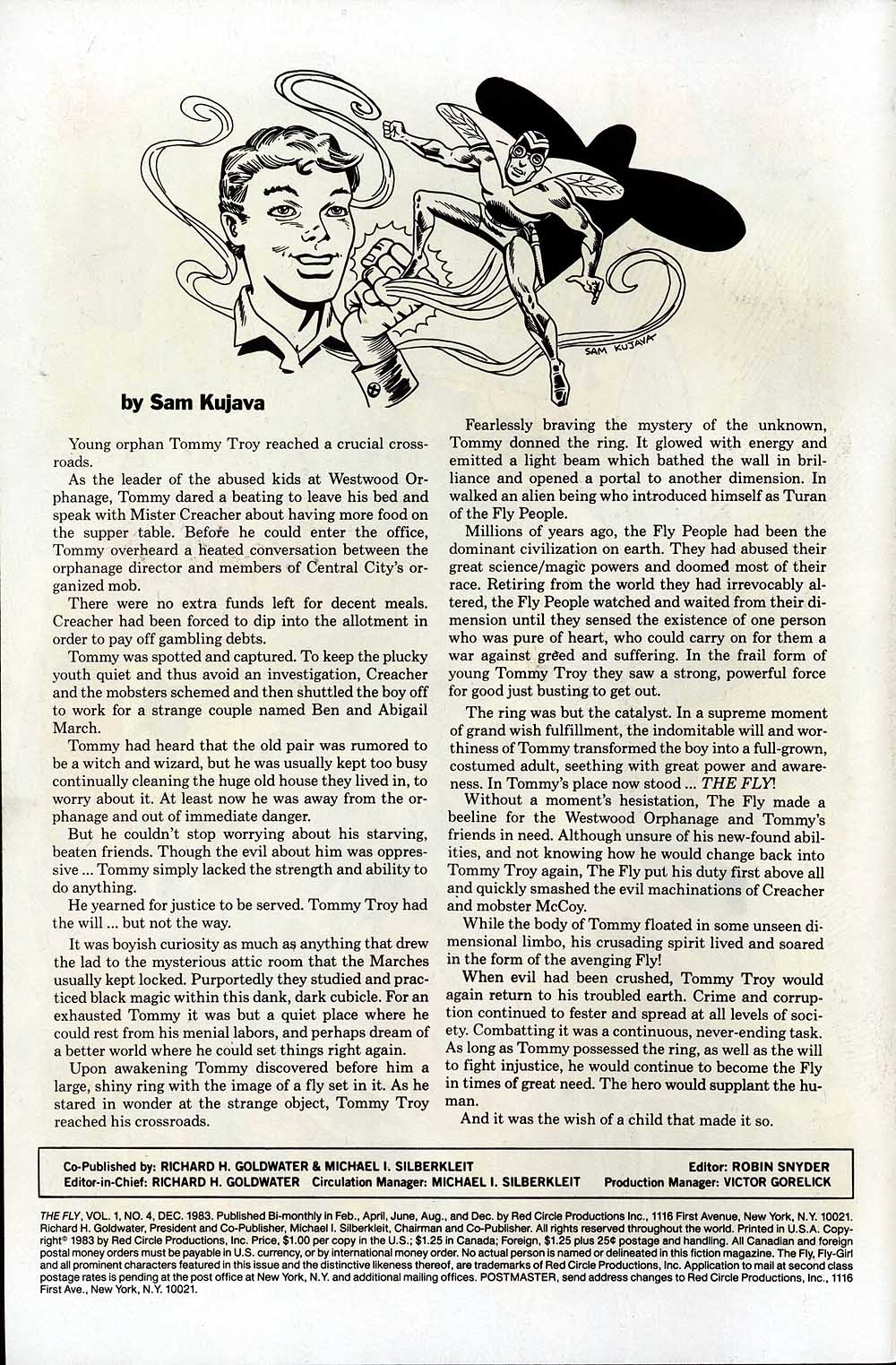 Read online The Fly (1983) comic -  Issue #4 - 2