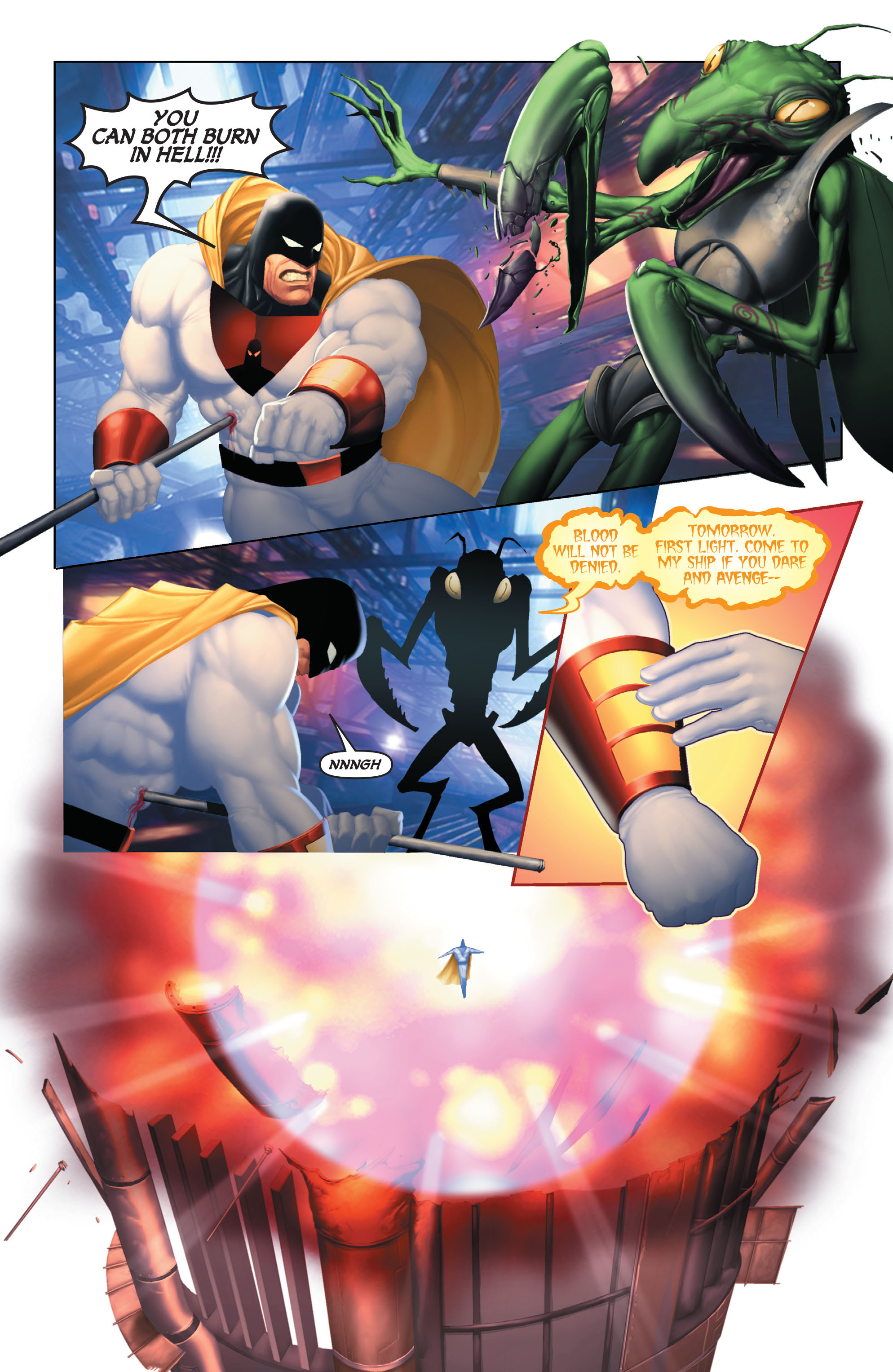 Read online Space Ghost (2016) comic -  Issue # Full - 104