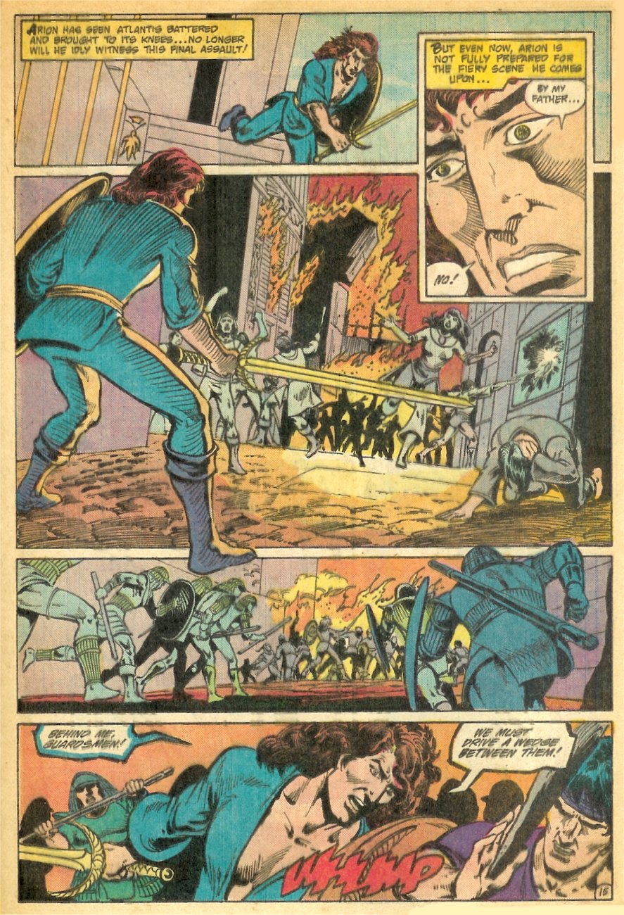 Read online Arion, Lord of Atlantis comic -  Issue #26 - 16