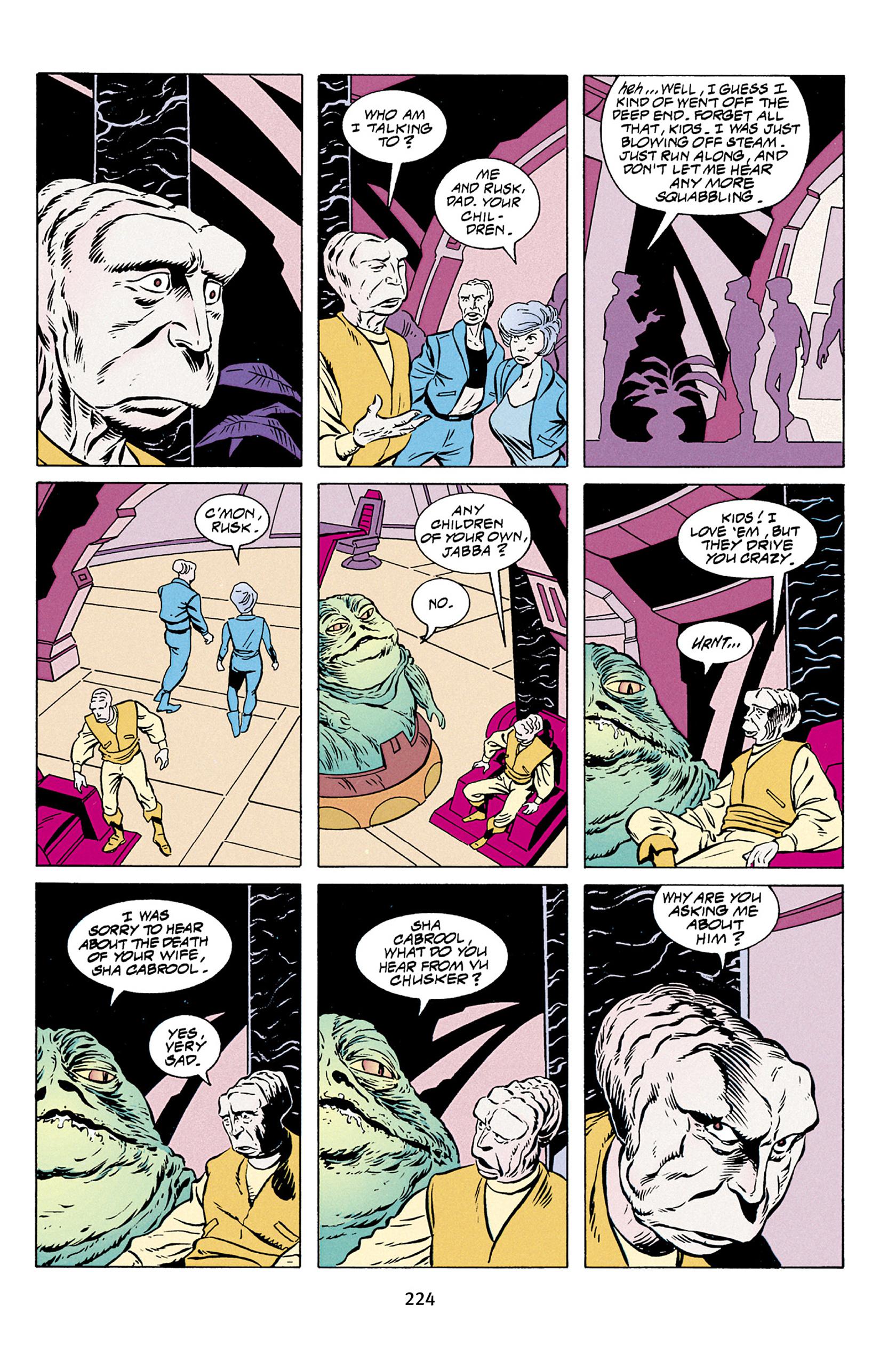 Read online Star Wars Omnibus comic -  Issue # Vol. 30 - 221