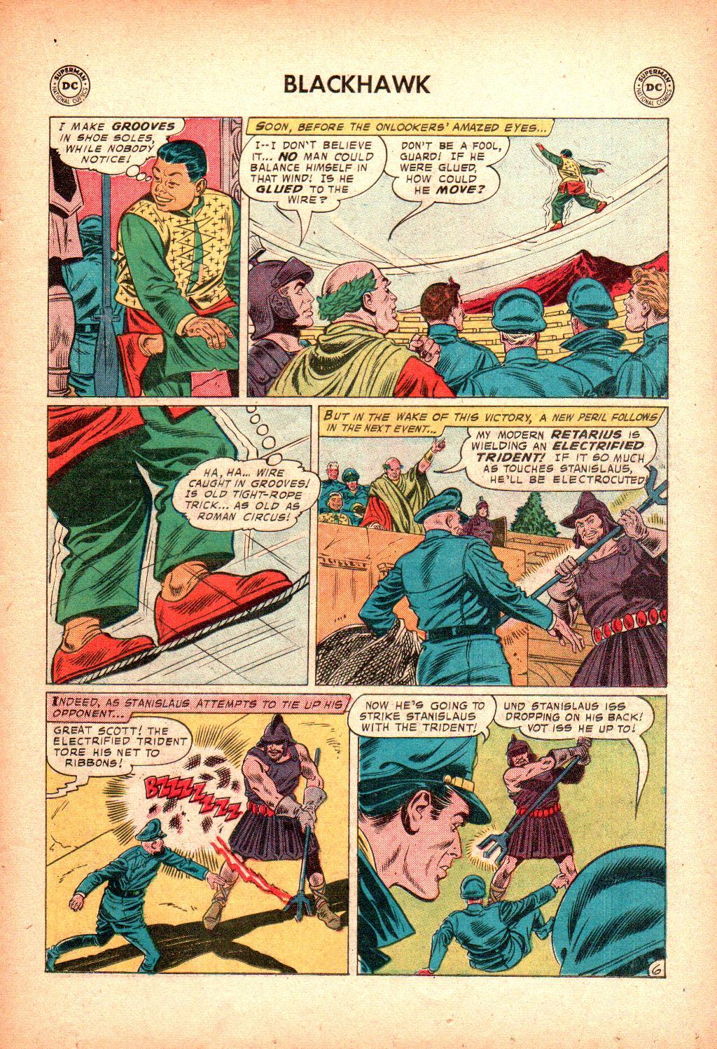 Blackhawk (1957) Issue #128 #21 - English 19
