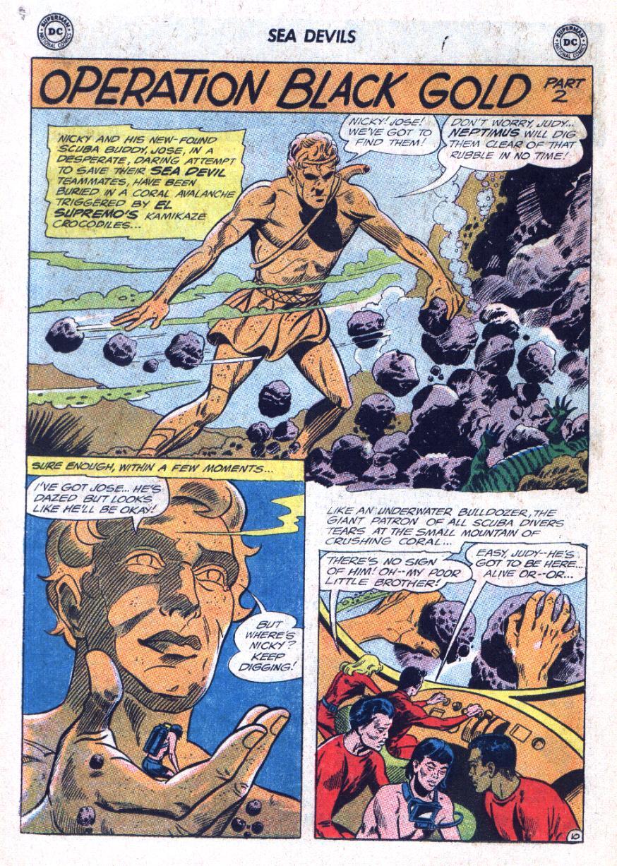 Read online Sea Devils comic -  Issue #25 - 15