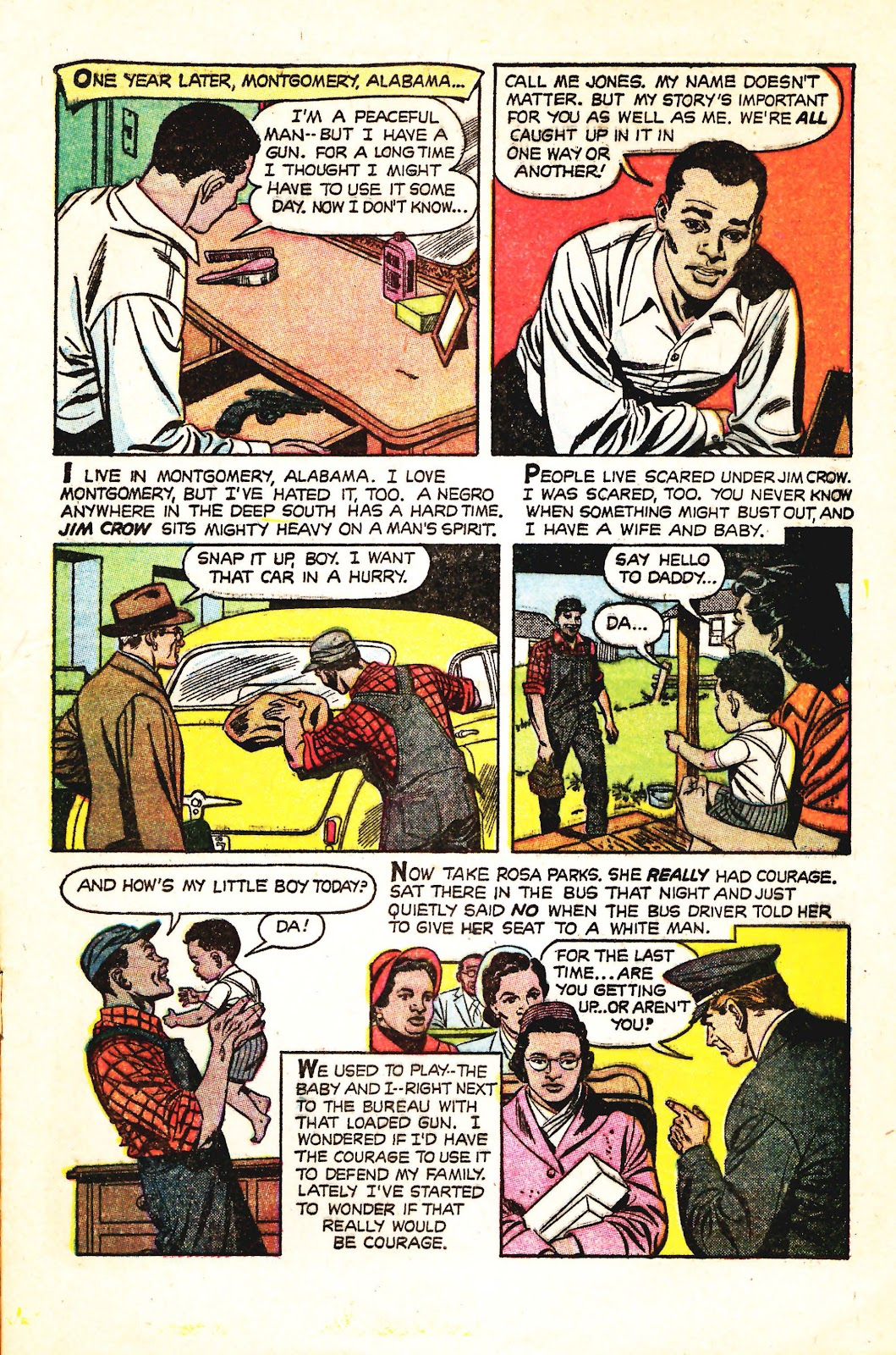 Read online Martin Luther King and the Montgomery Story comic -  Issue # Full - 3