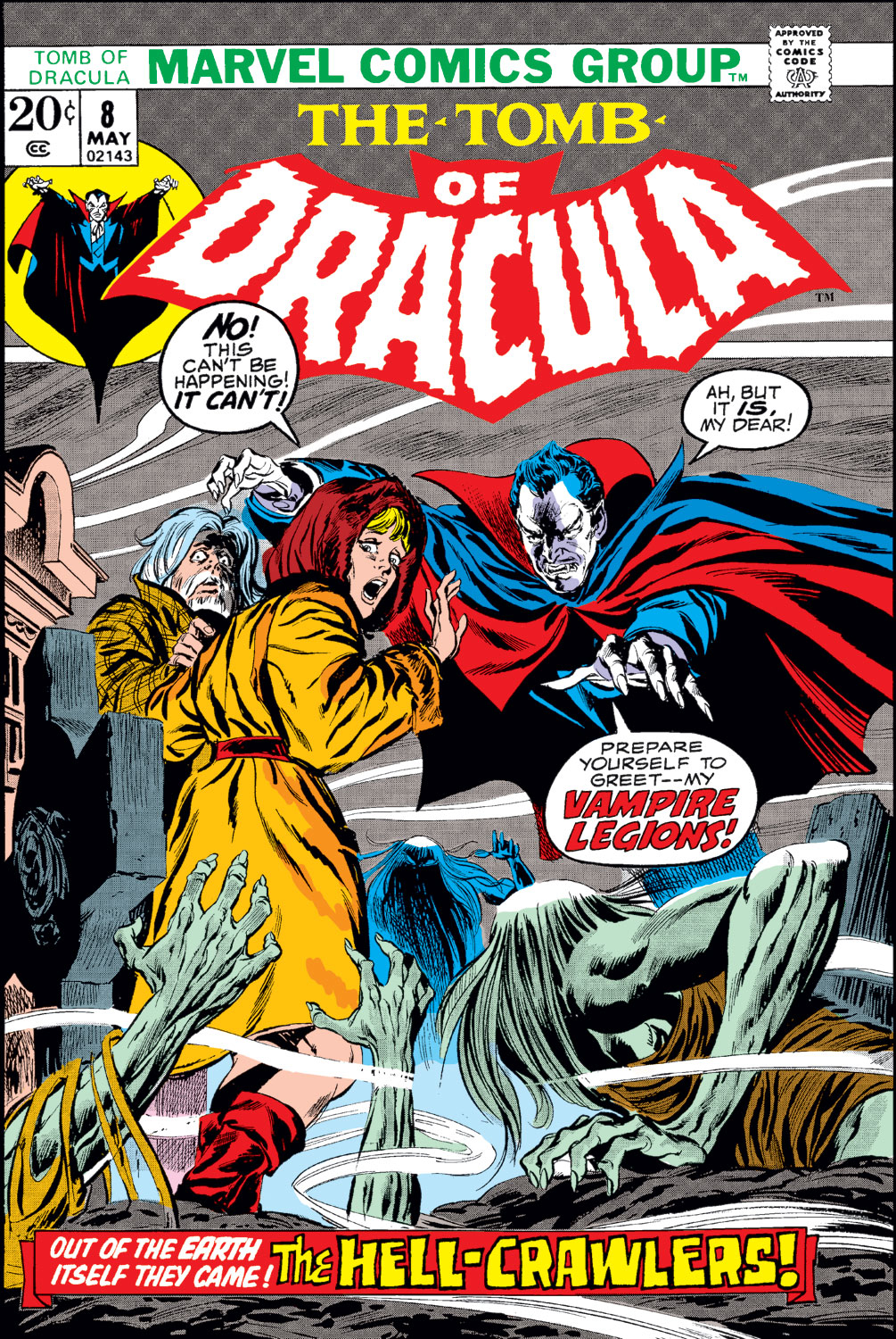 Tomb of Dracula (1972) issue 8 - Page 1