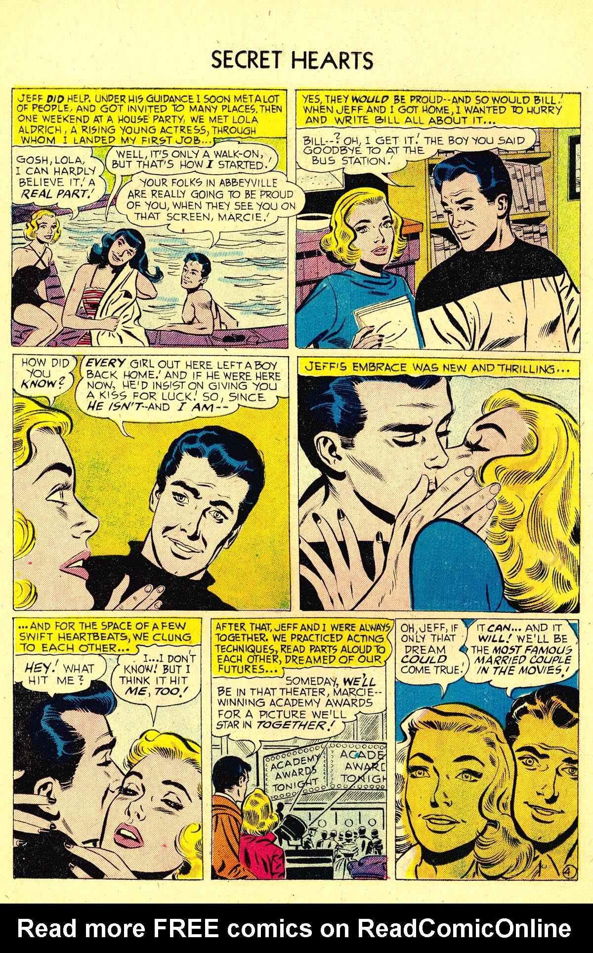 Read online Secret Hearts comic -  Issue #37 - 22