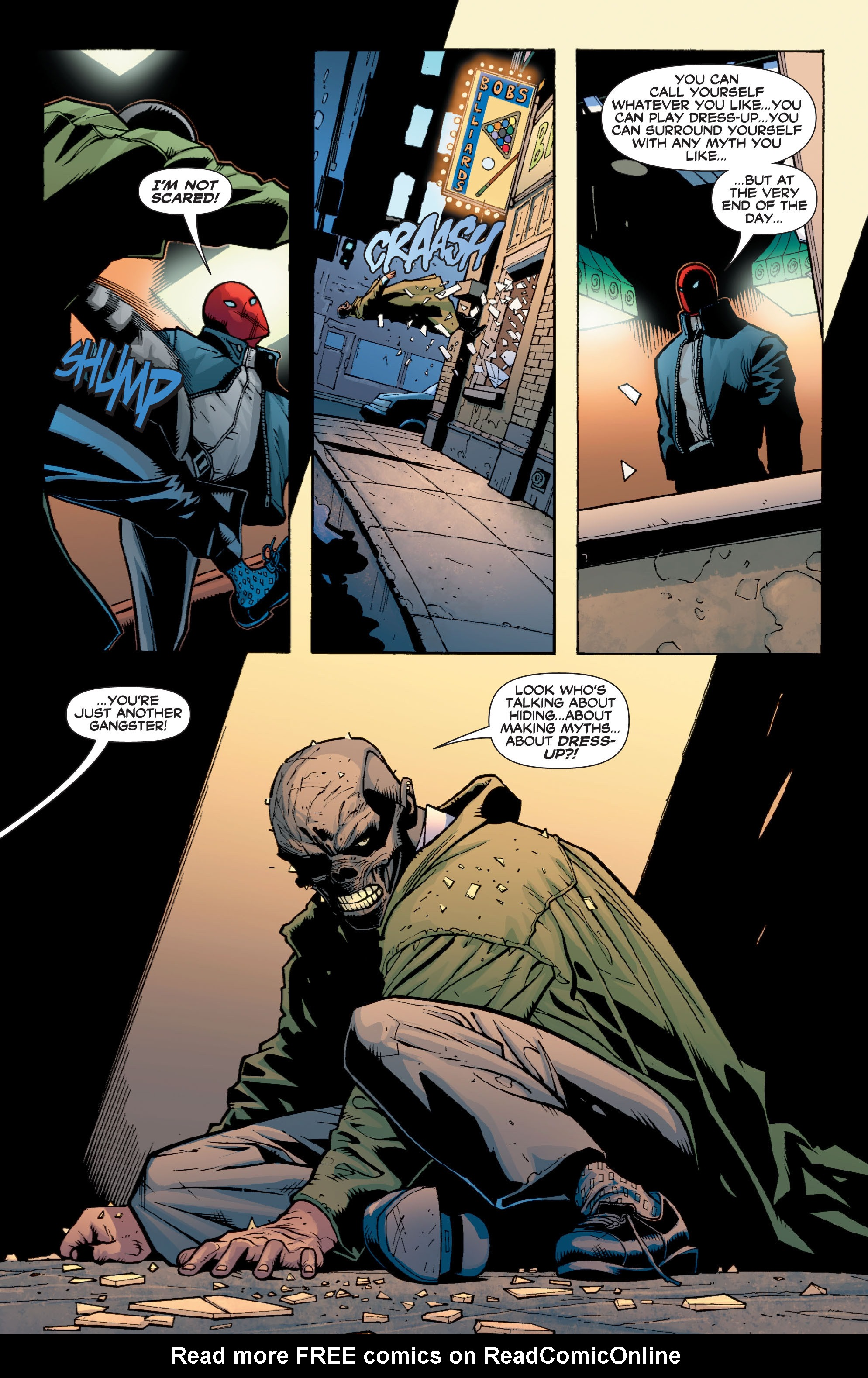 Read online Batman: Under The Red Hood comic -  Issue # Full - 261