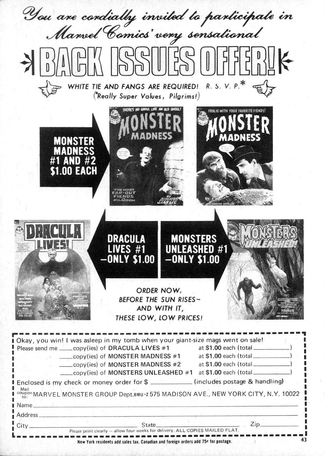Monsters Unleashed (1973) issue 2 - Page 43