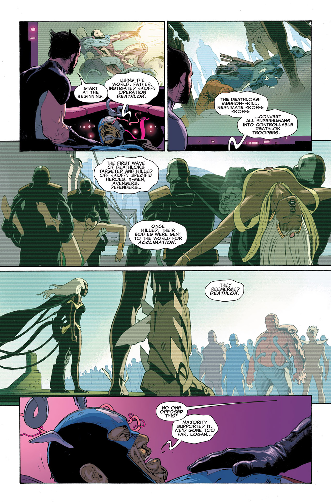 Read online Uncanny X-Force (2010) comic -  Issue #6 - 20