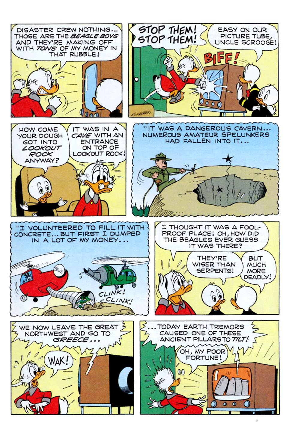 Read online Uncle Scrooge (1953) comic -  Issue #290 - 24