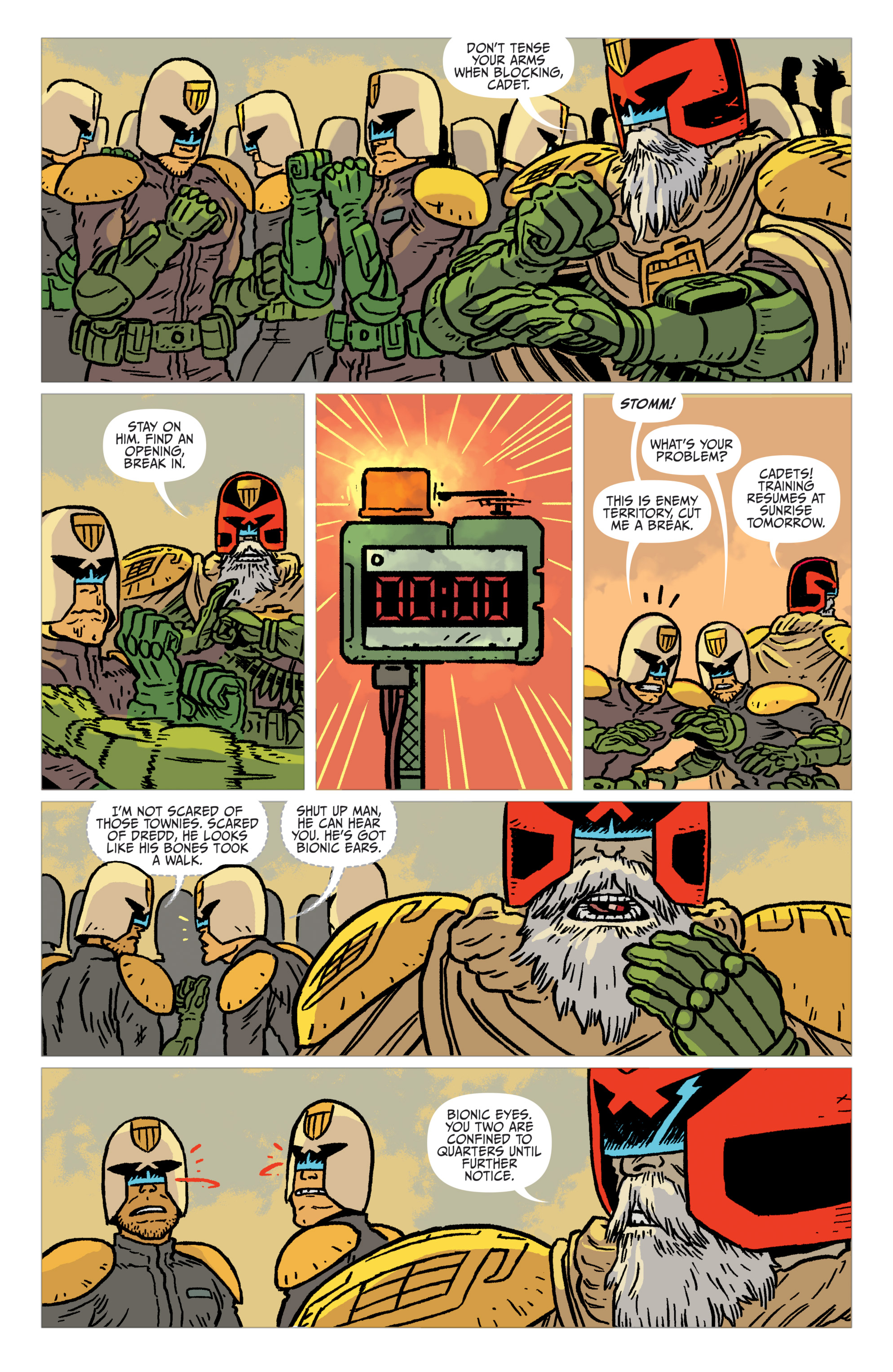 Read online Judge Dredd: The Blessed Earth comic -  Issue #2 - 18