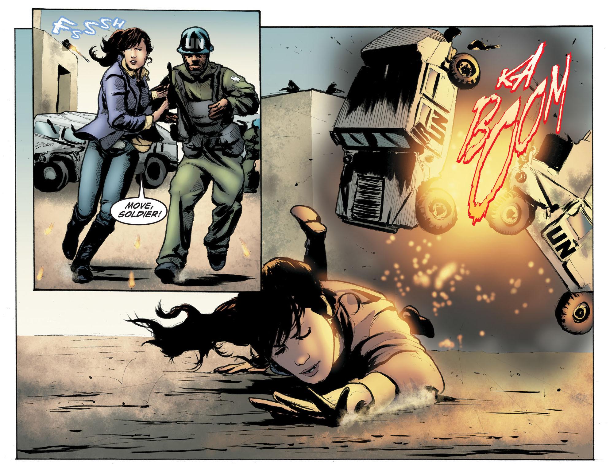 Read online Smallville: Season 11 comic -  Issue #41 - 18