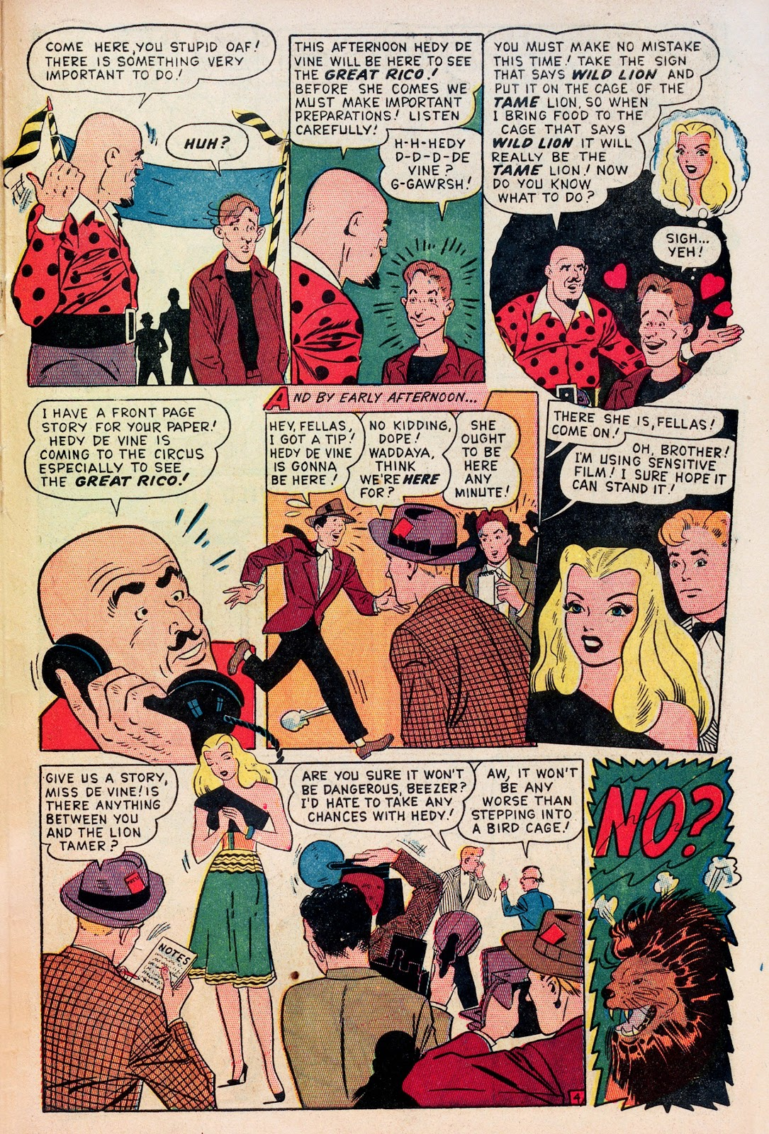 Read online Comedy Comics (1948) comic -  Issue #1 - 29