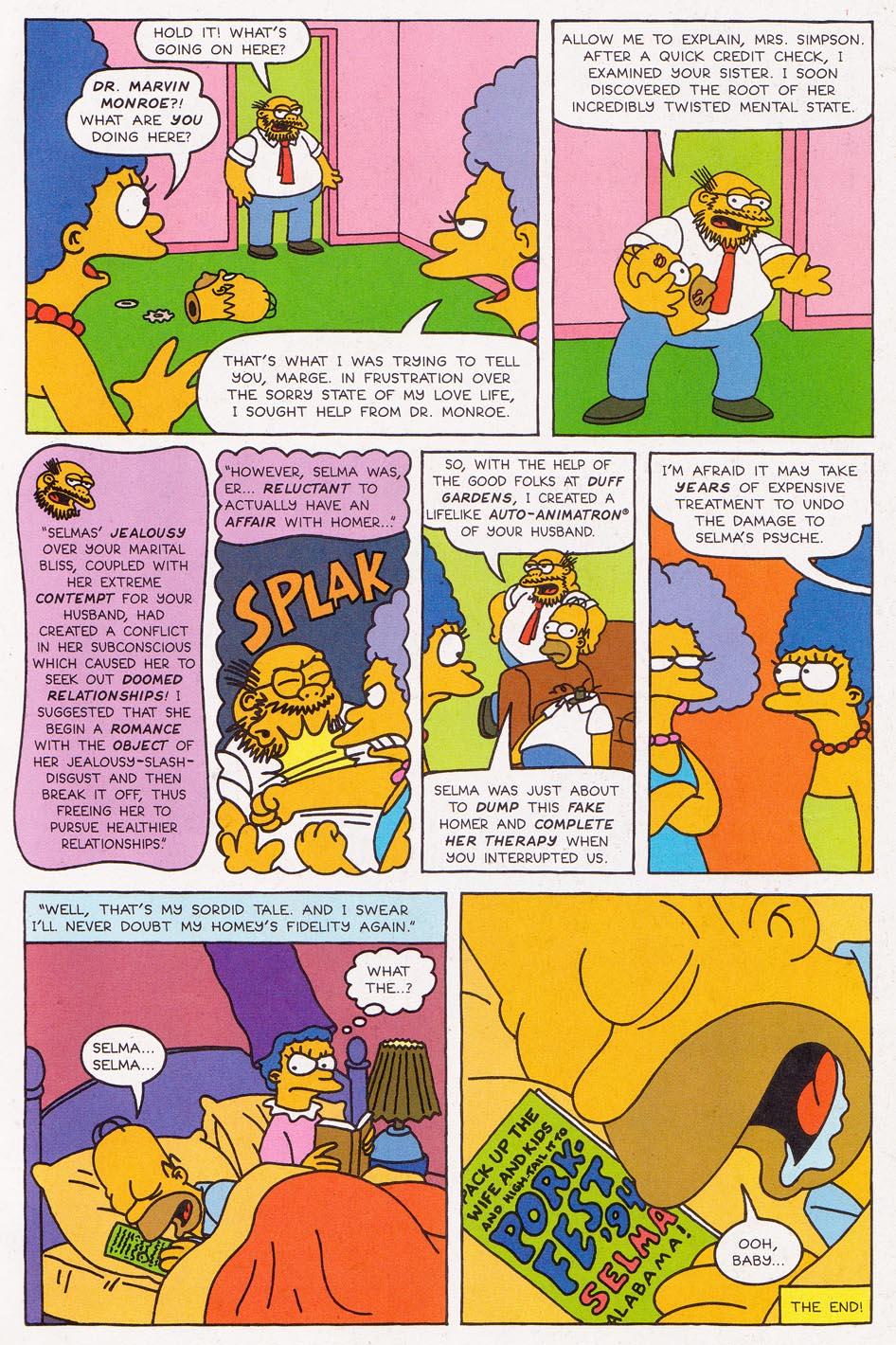 Read online Simpsons Comics comic -  Issue #2 - 29