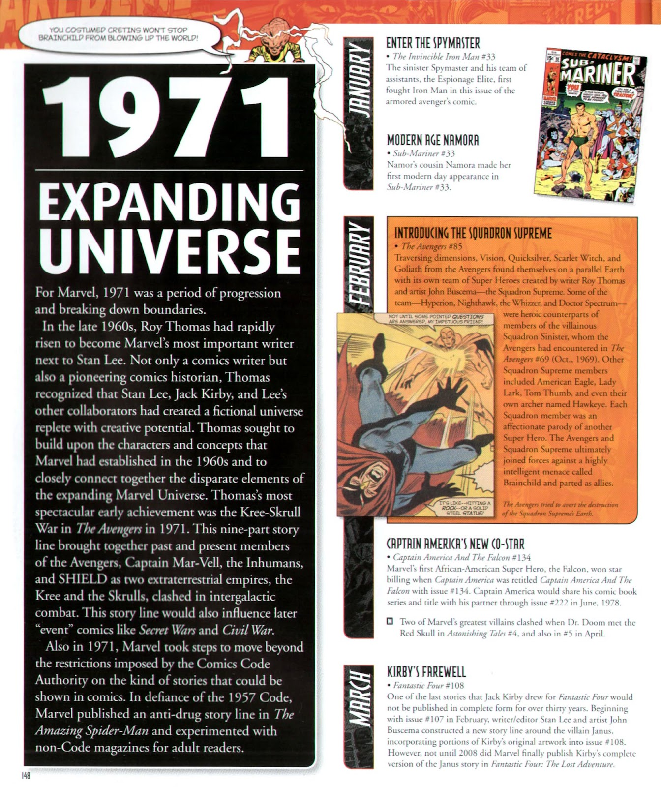 Read online Marvel Chronicle comic -  Issue # TPB (Part 2) - 42
