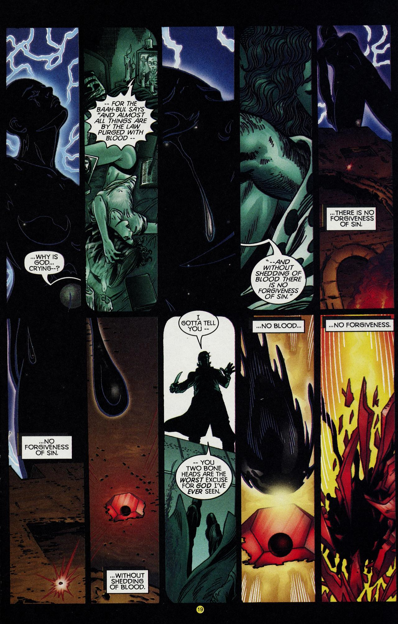 Read online Solar, Man of the Atom: Hell on Earth comic -  Issue #4 - 19